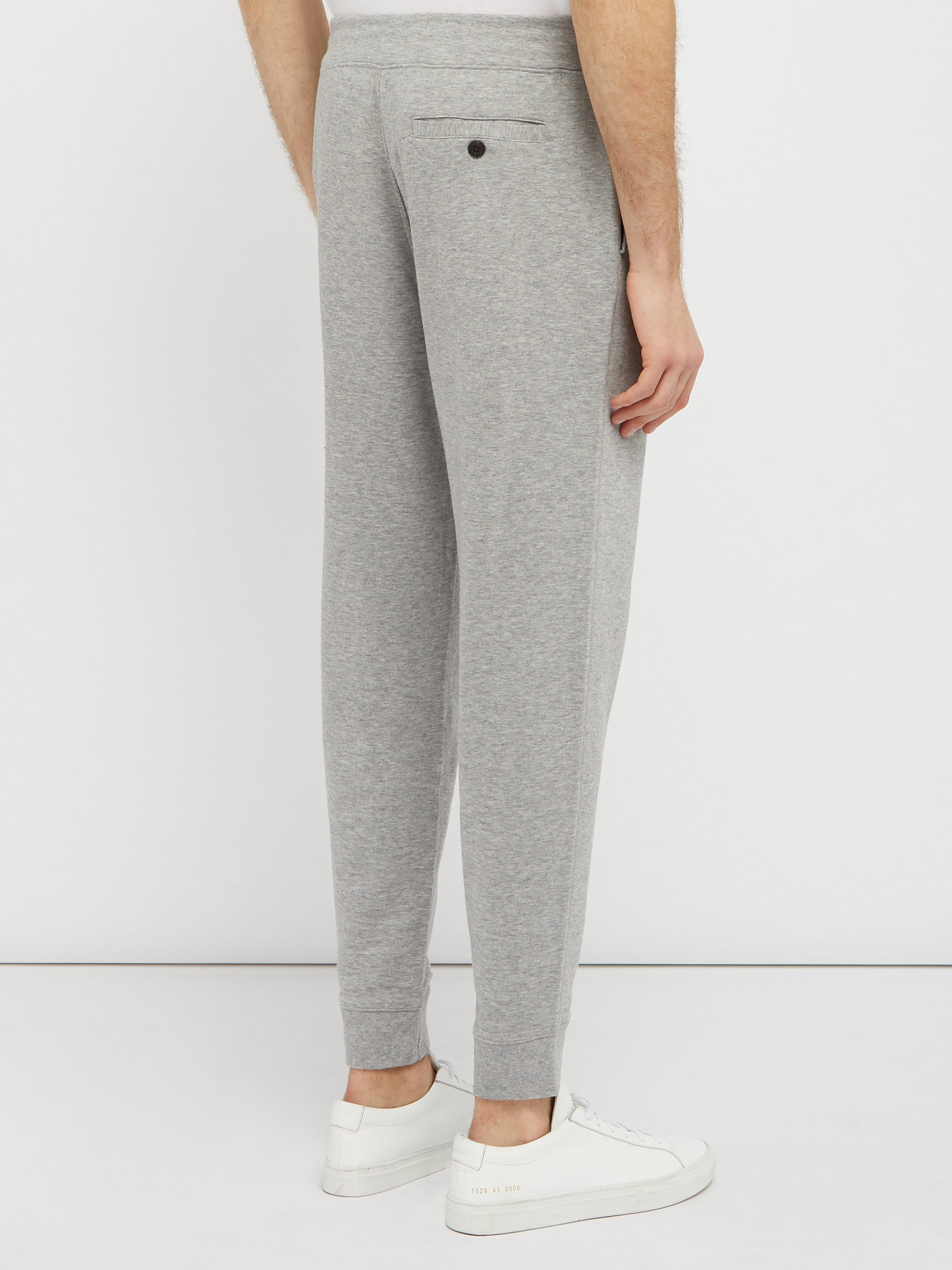 646499fea067c Polo Ralph Lauren - Gray Pantalon de jogging en jersey de coton à logo for  Men. Afficher en plein écran