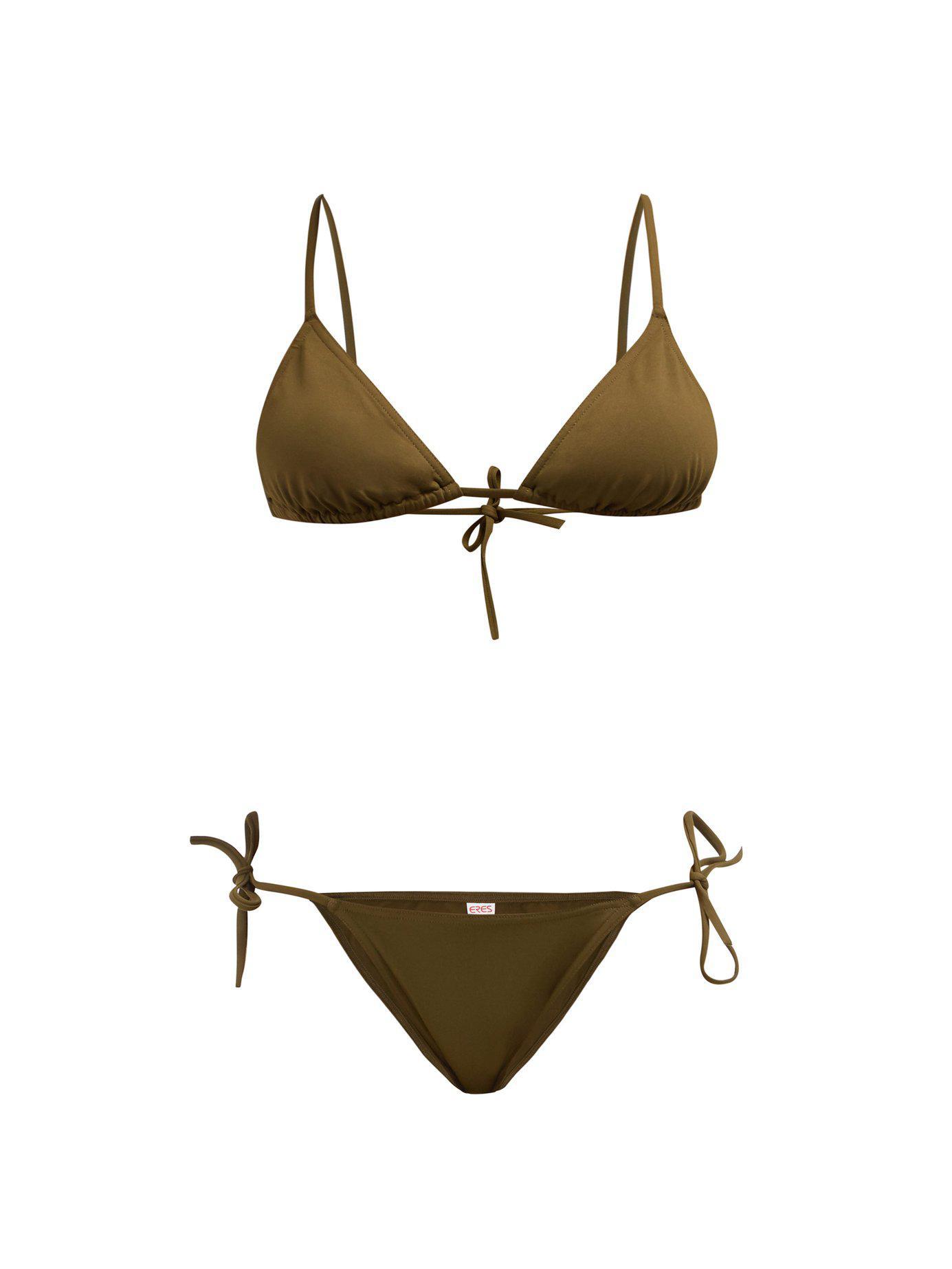 MounaMalou In Lyst Triangle Bikini Green Eres Set uTPwkiXZO