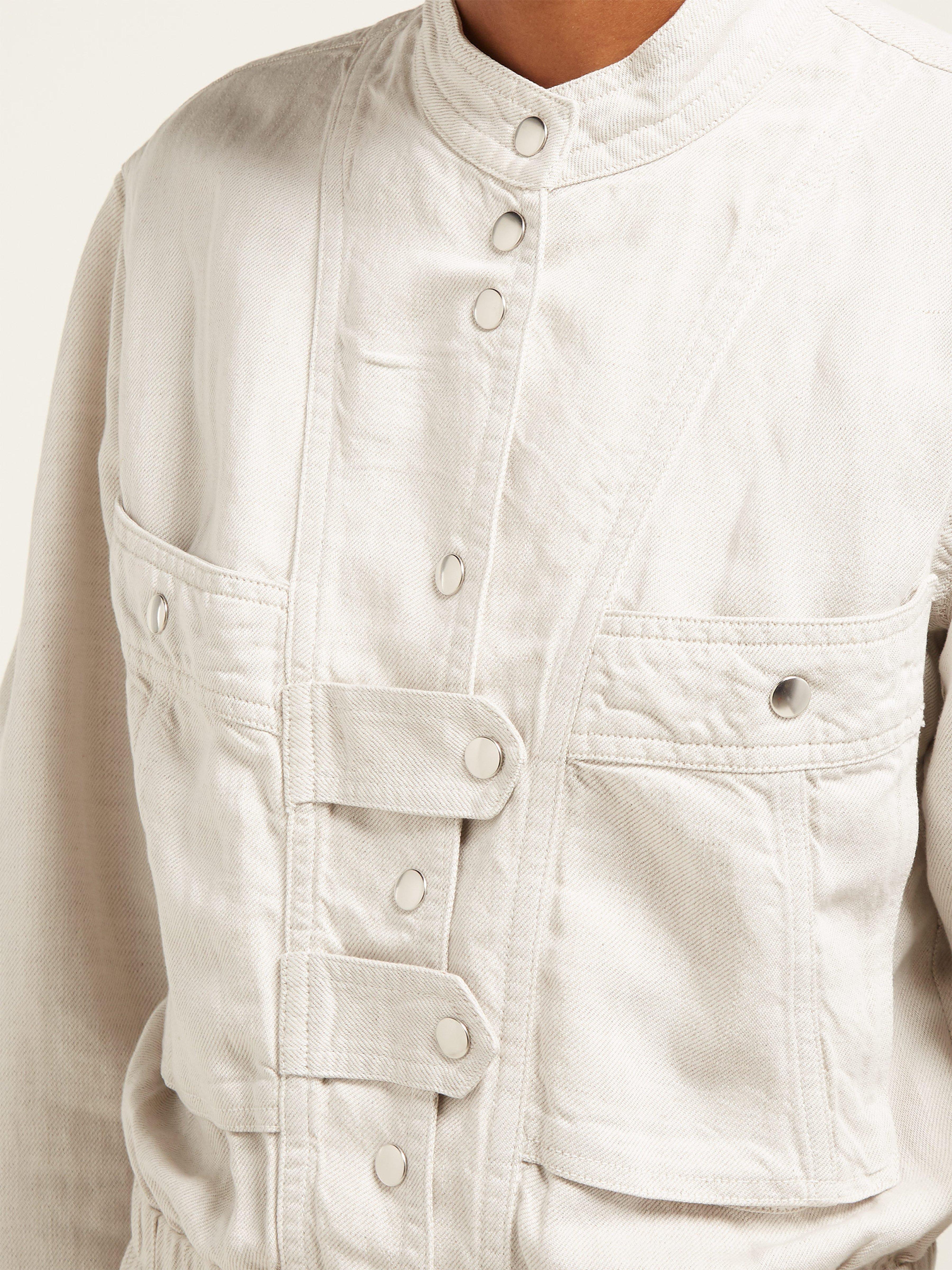 0a4249391c Étoile Isabel Marant - White Lashay Linen Blend Jumpsuit - Lyst. View  fullscreen