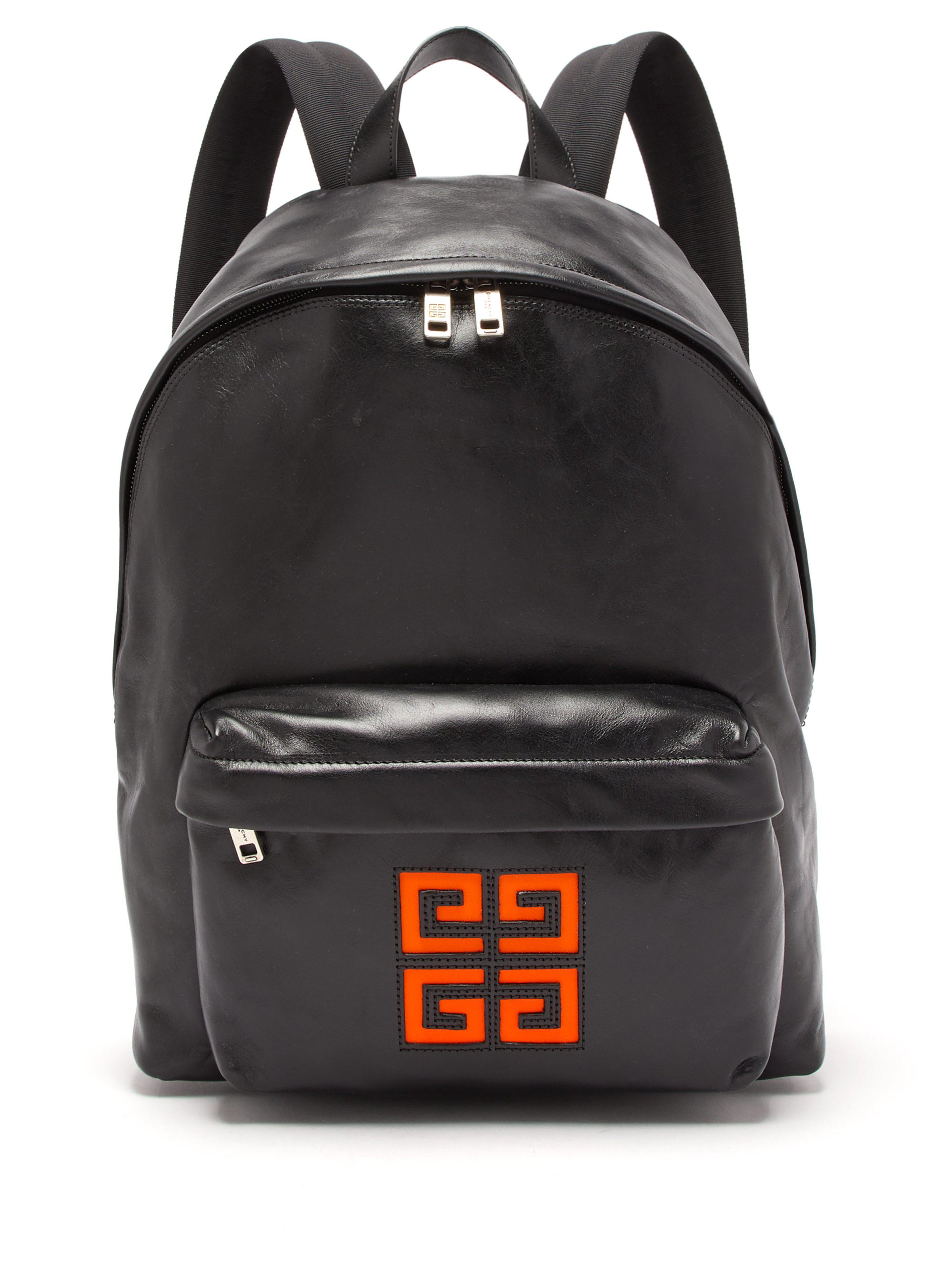 bd89f4d7173 Givenchy 4g Logo Leather Backpack in Black for Men - Lyst