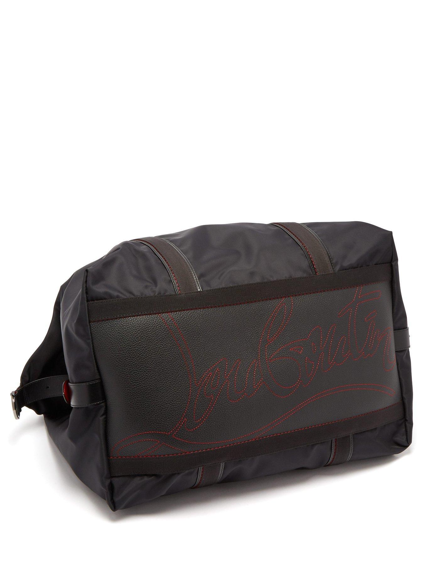 0c5d0e2ce778 Christian Louboutin - Black Parislisboa Double Handle Weekend Bag for Men -  Lyst. View fullscreen