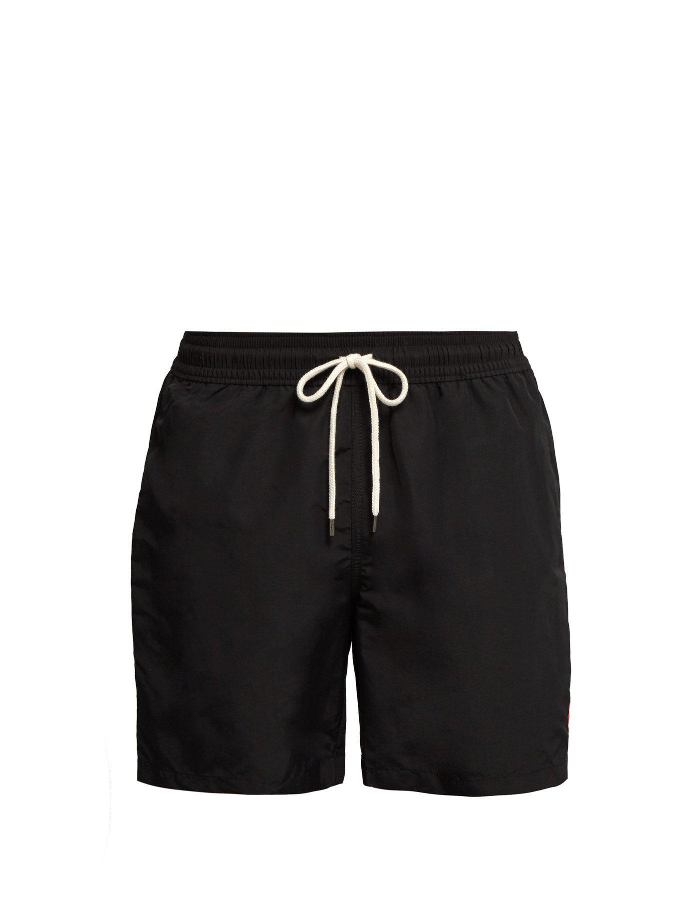 569008d71269c Polo Ralph Lauren - Black Block Coloured Swim Shorts for Men - Lyst. View  fullscreen