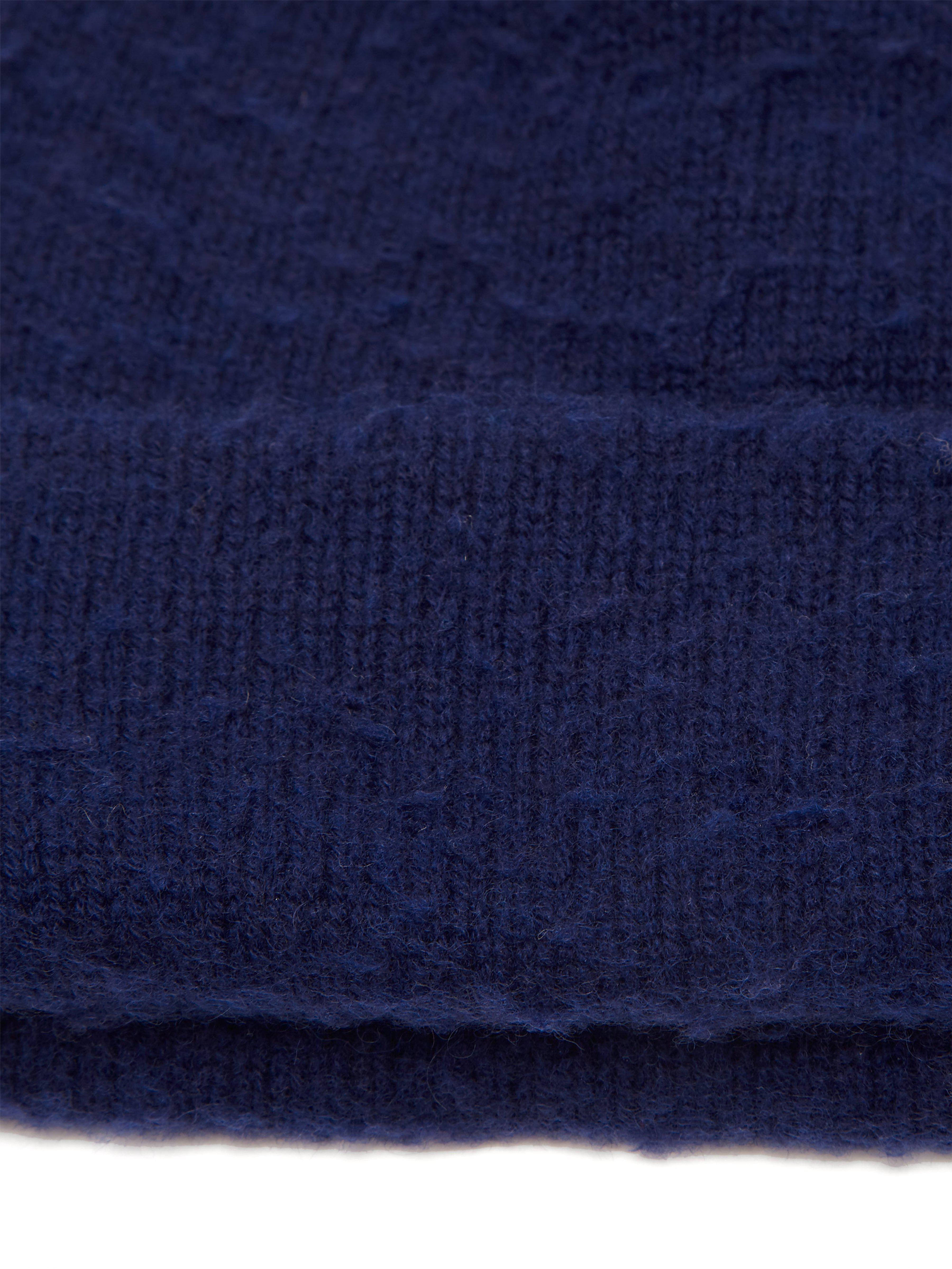 Acne - Blue Pilled Wool Blend Beanie Hat for Men - Lyst. View fullscreen 07eb437619f6