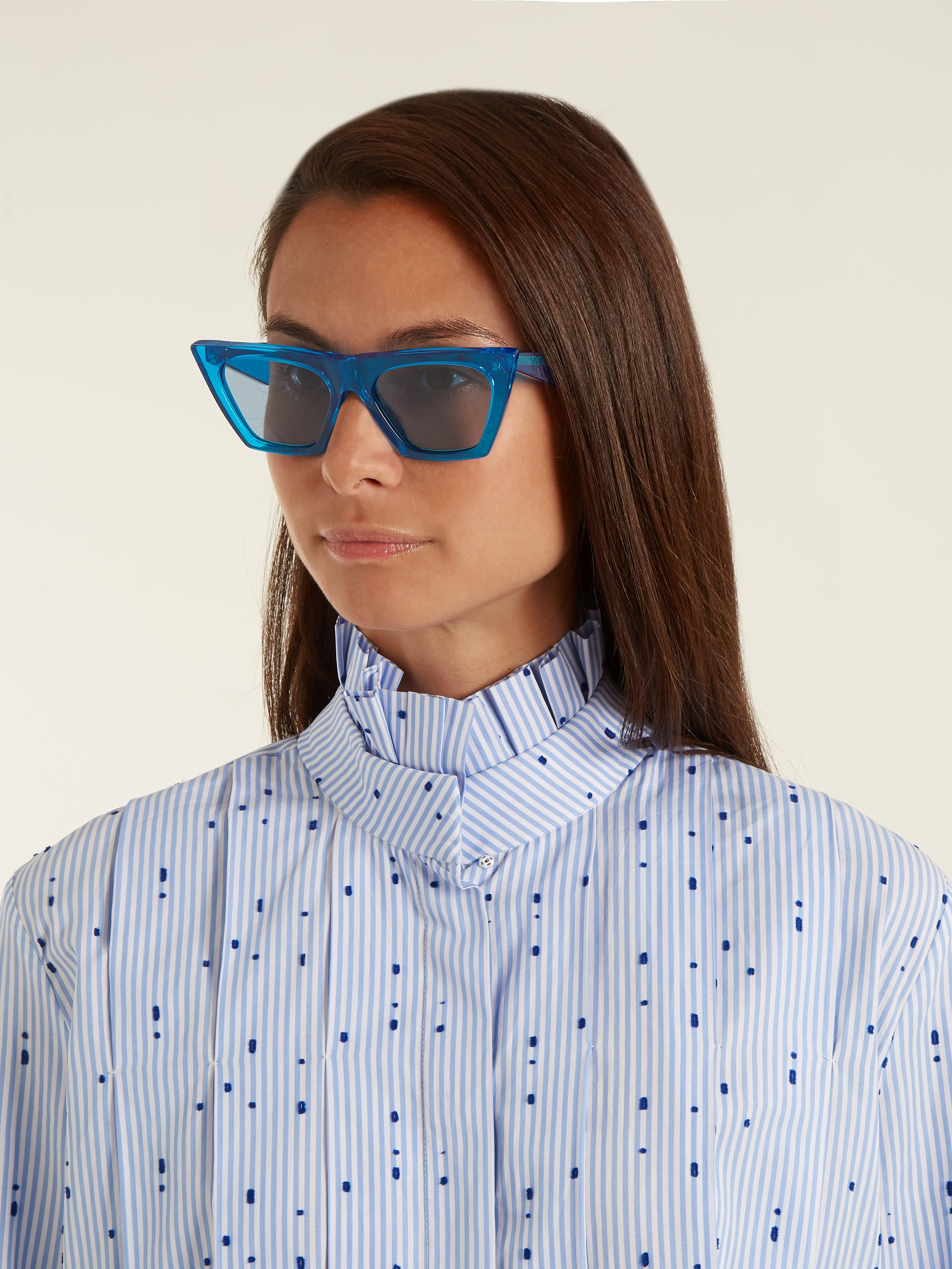 6974c611861 Gallery. Previously sold at  MATCHESFASHION.COM · Women s Acetate Sunglasses  Women s Cat Eye ...