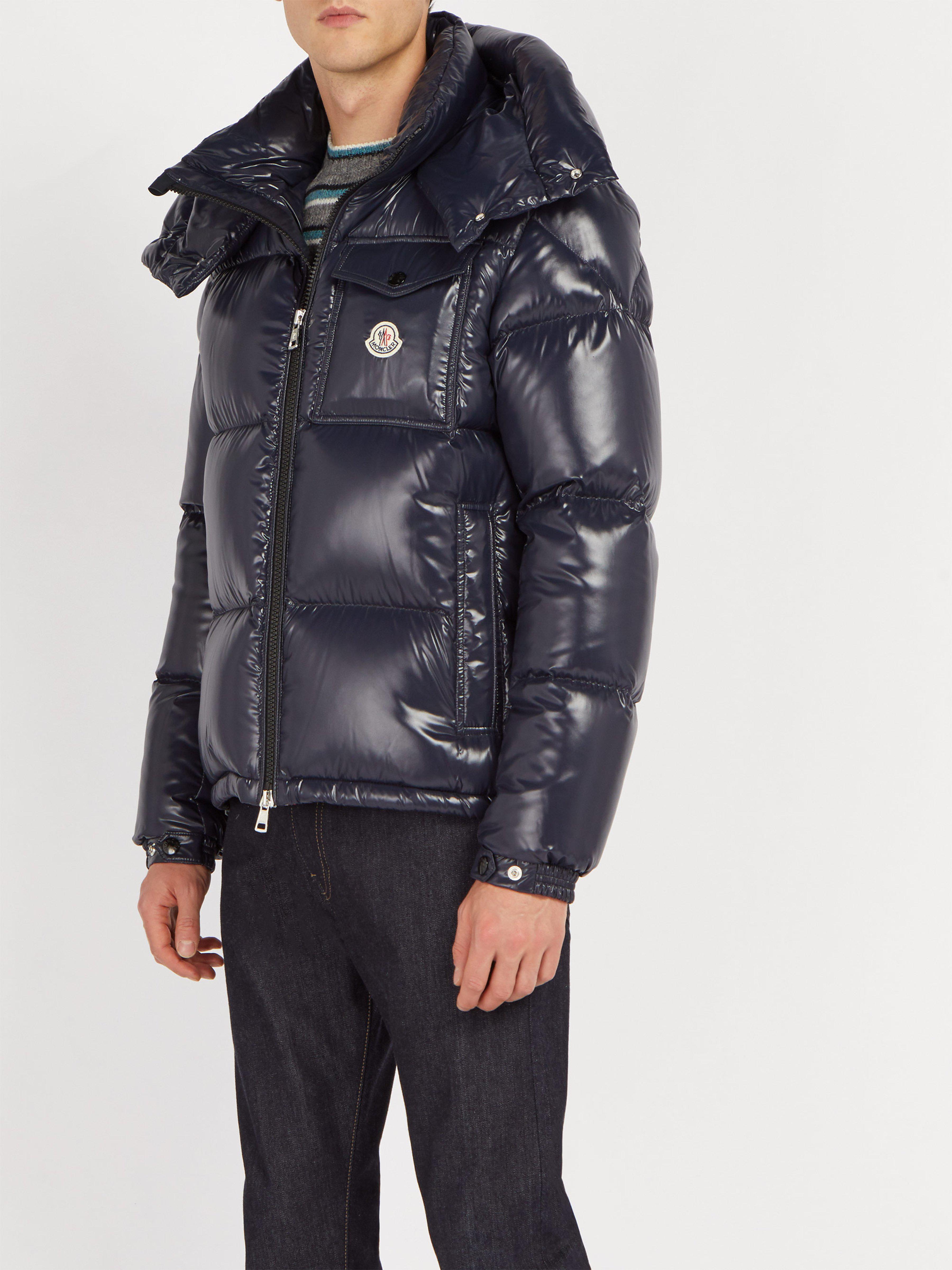 d65b35716 Moncler Montbeliard Down-filled Jacket in Blue for Men - Lyst