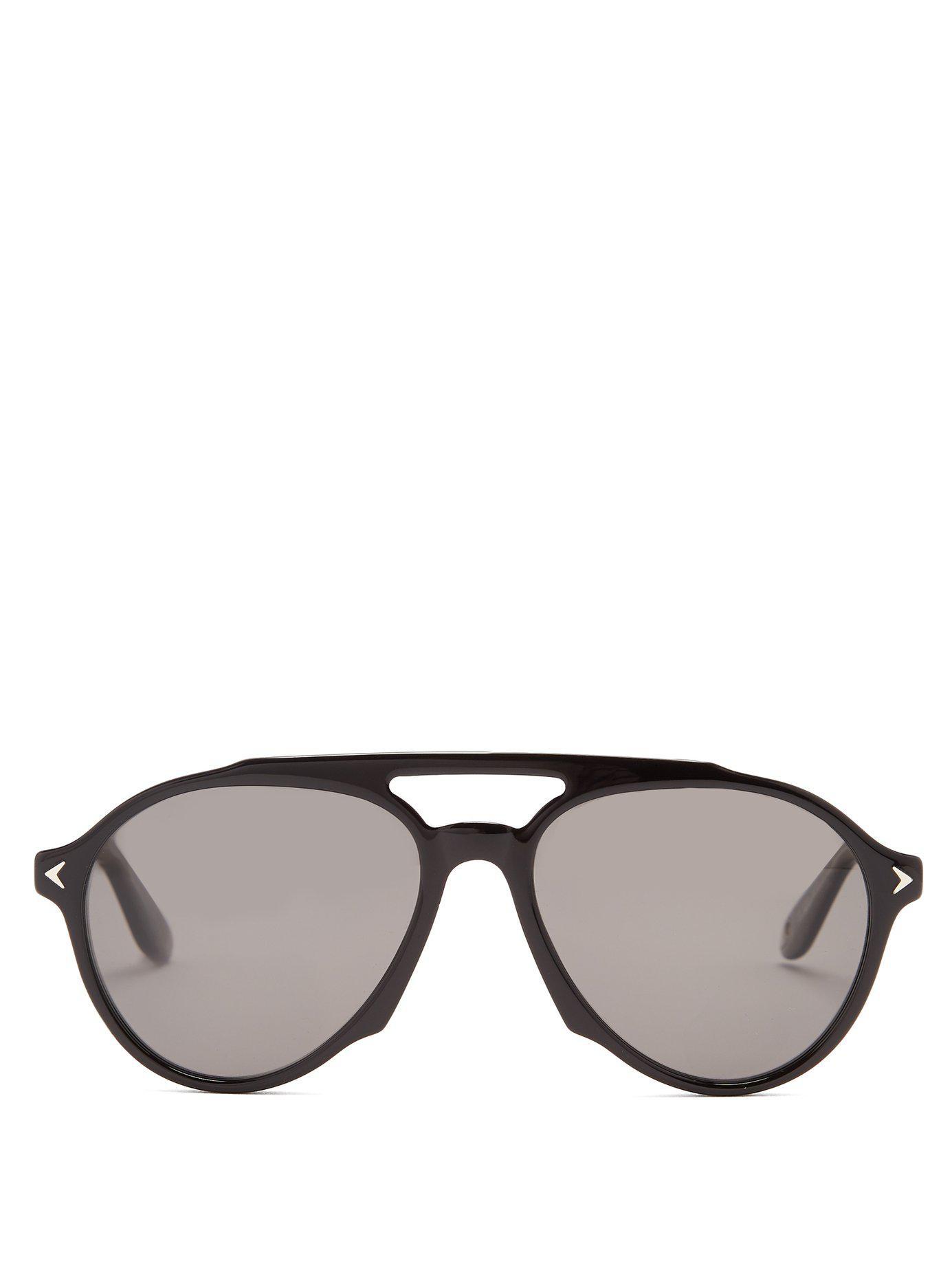 Givenchy Lunettes de soleil aviateur en acétate 2cT7a5i
