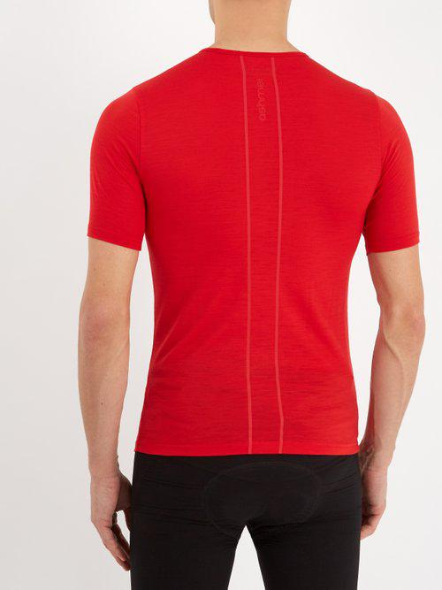 c0e7f9133 Lyst - Ashmei Classic Wool-blend Base-layer T-shirt in Red for Men