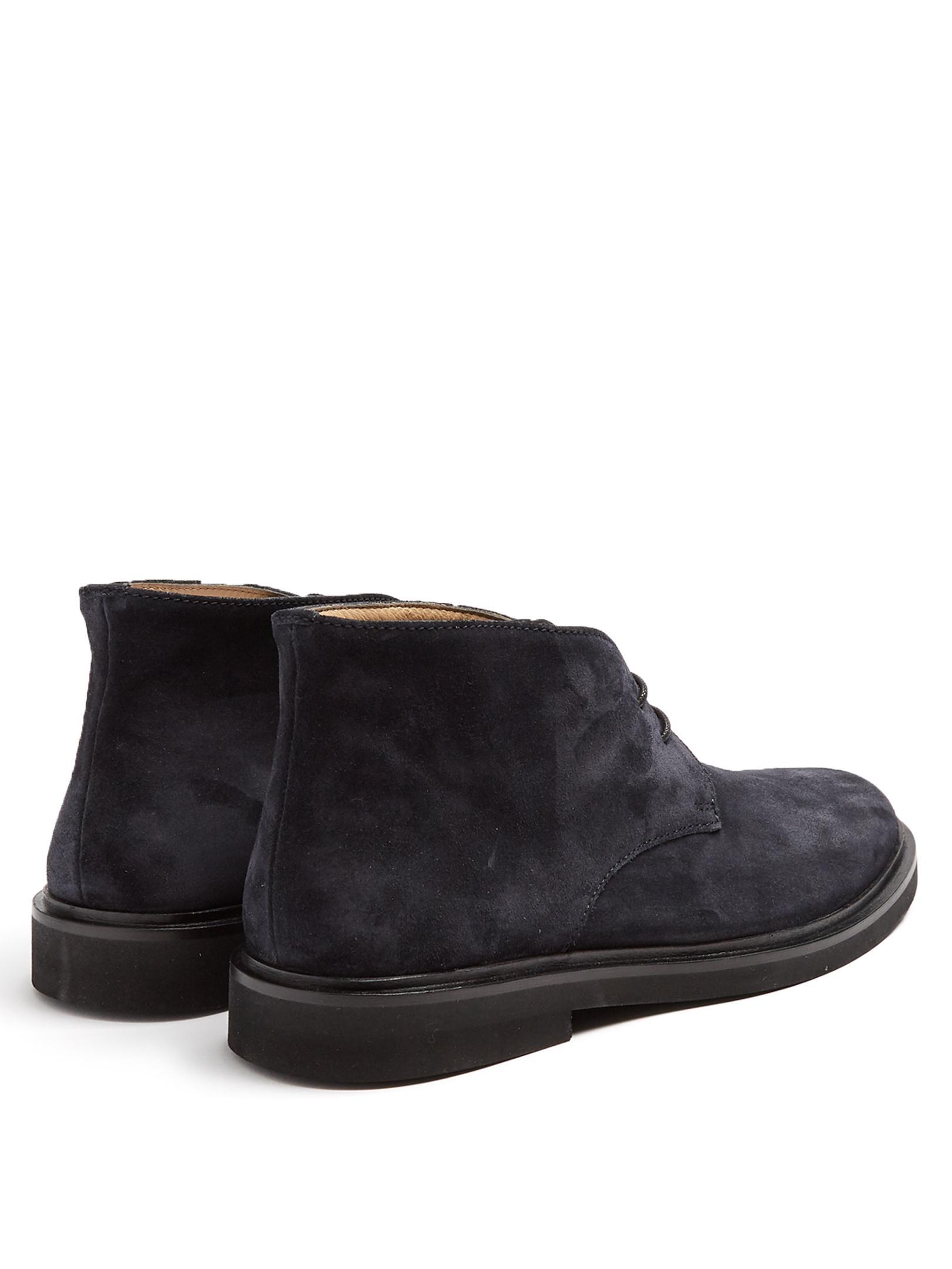 Tan Suede Camarguaises Anna Boots A.P.C. Cheap Sale Fast Delivery Explore QYfAXIV
