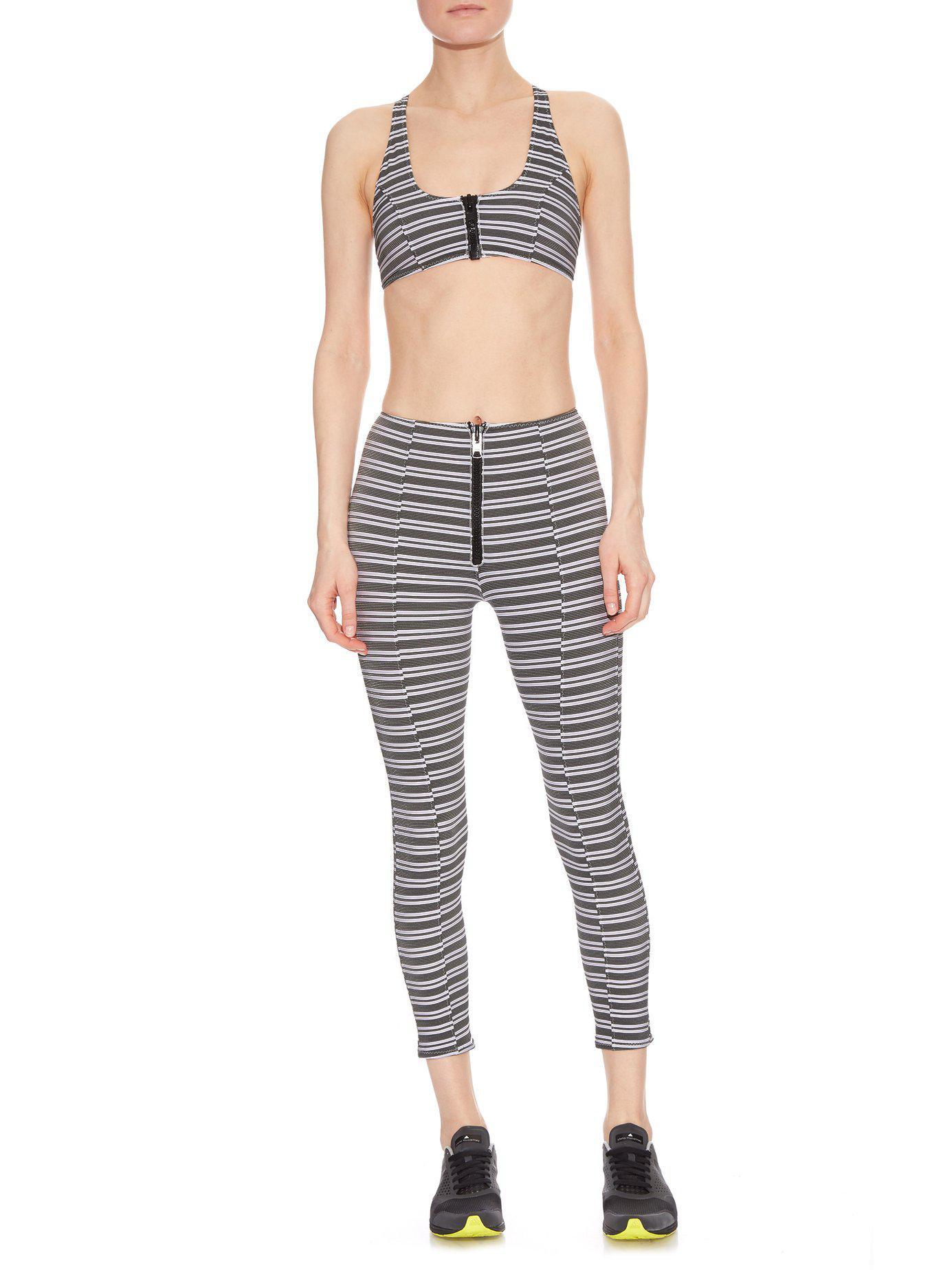 639d39da7993a Lisa Marie Fernandez - Black Elisa Striped Performance Bra - Lyst. View  fullscreen