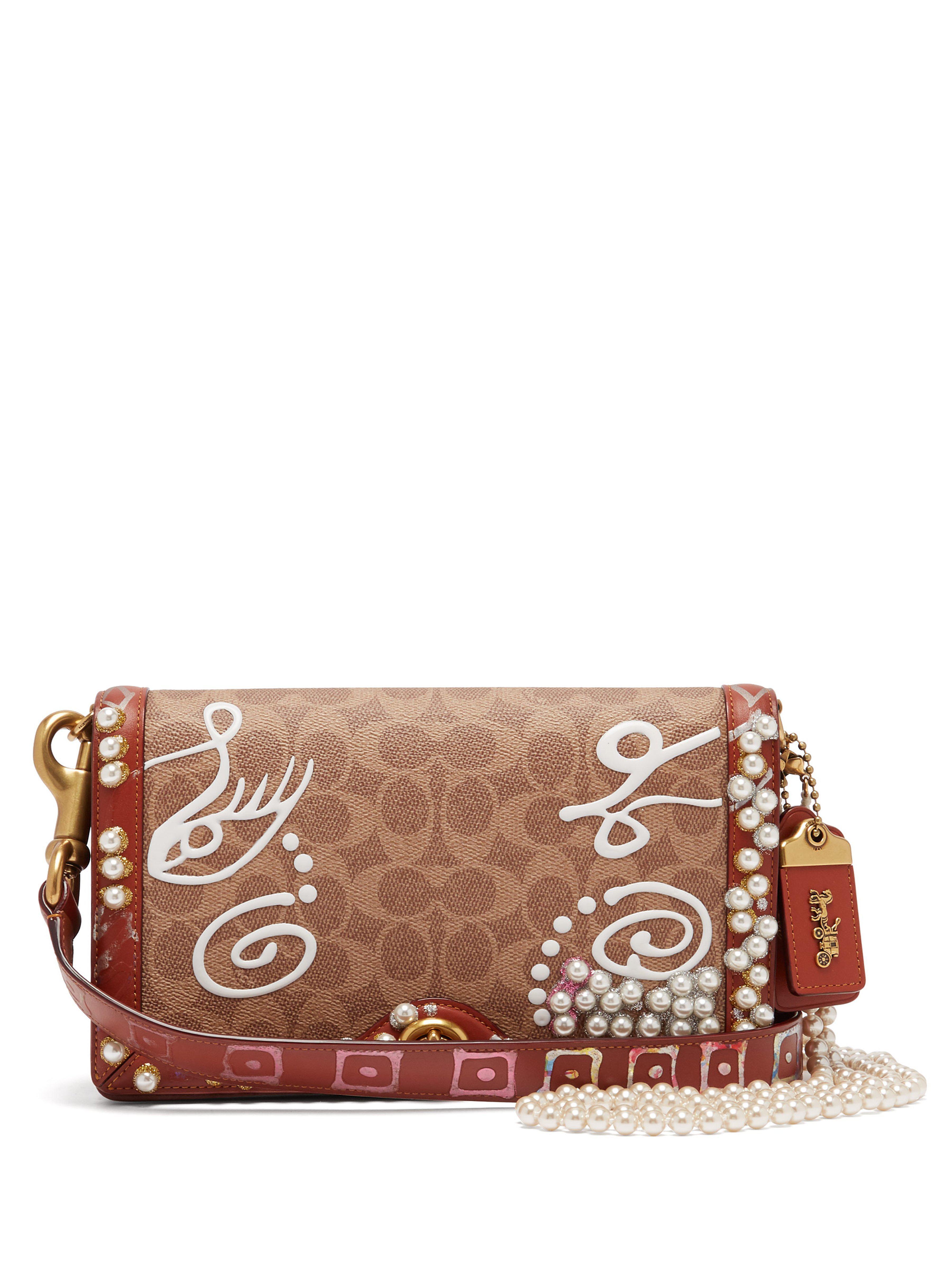 MATTY BOVAN Coach X Riley Signature Bag in Brown - Lyst c071c2cf58bbd