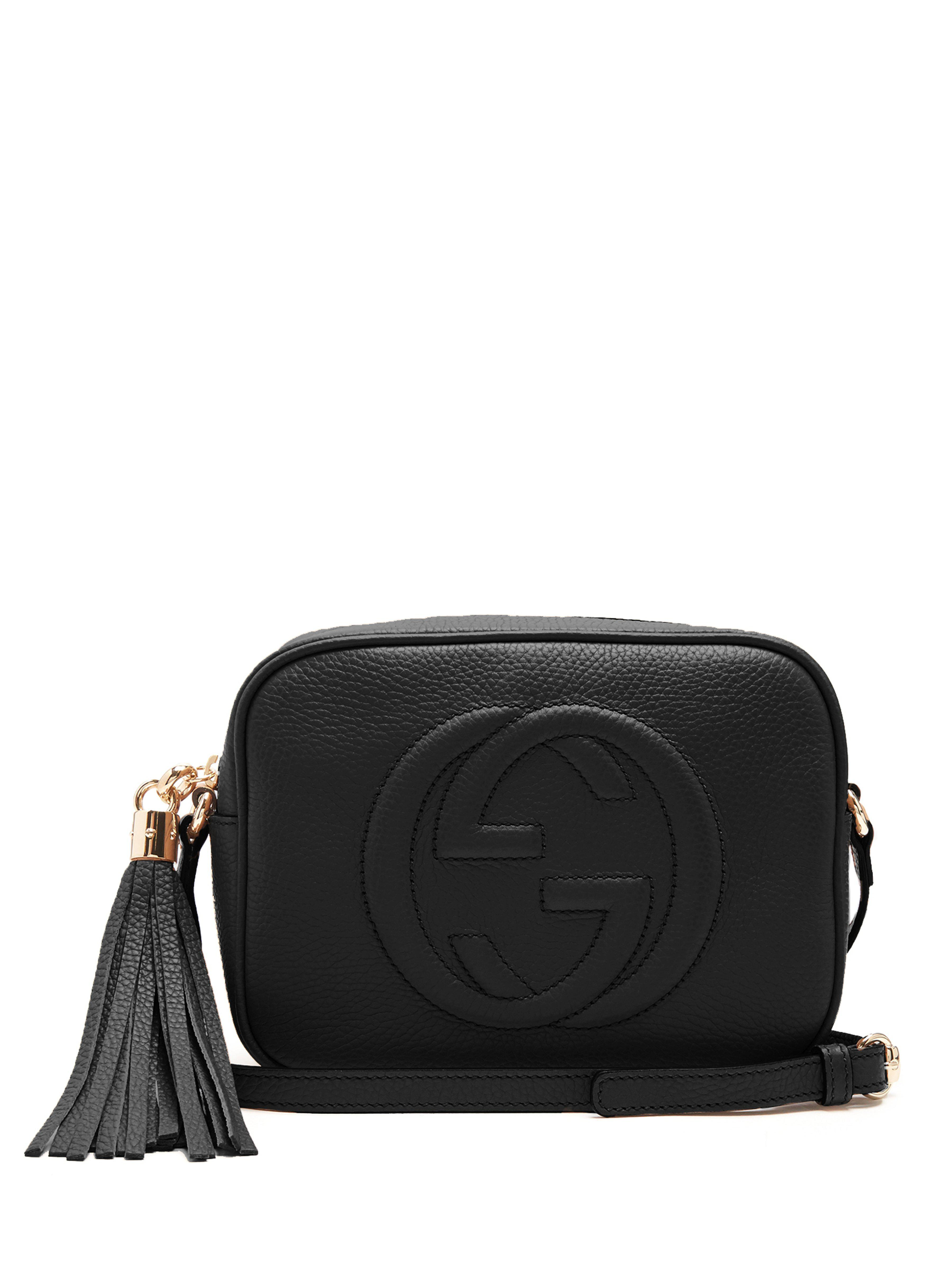 6b653b9ff70d Gucci Soho Disco Leather Shoulder Bag in Black - Save 11% - Lyst