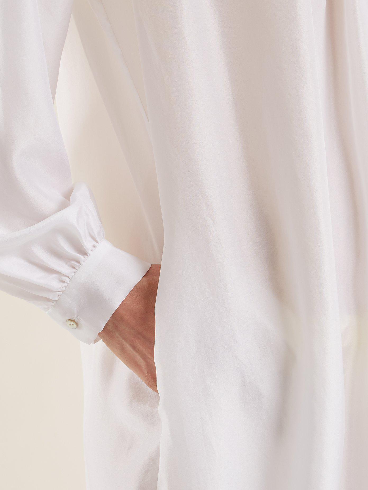 Corona silk shirtdress Loup Charmant hiXBI1
