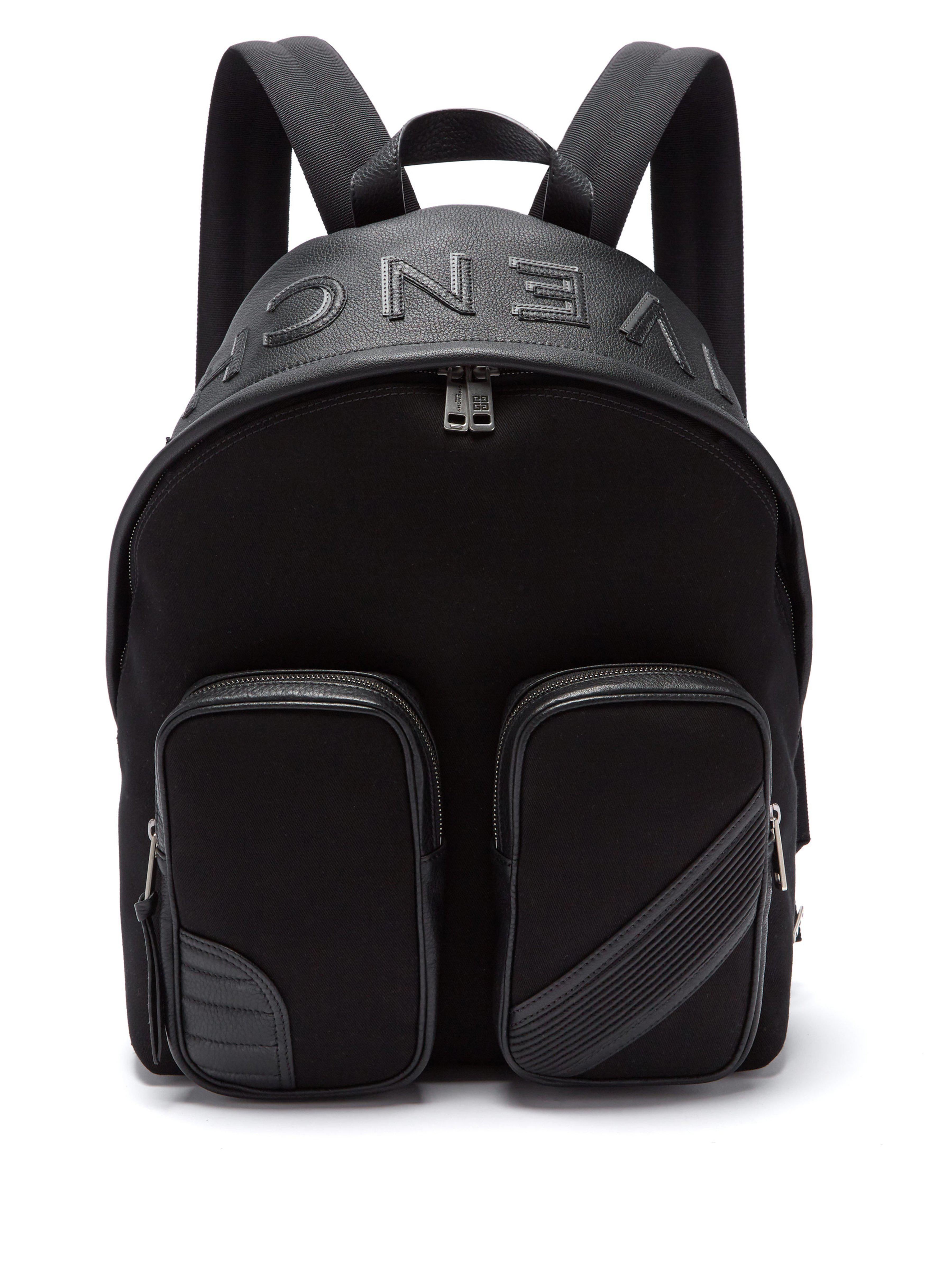ddf3dc2d6b Sac à dos en toile et cuir MC3 Givenchy pour homme en coloris Noir ...