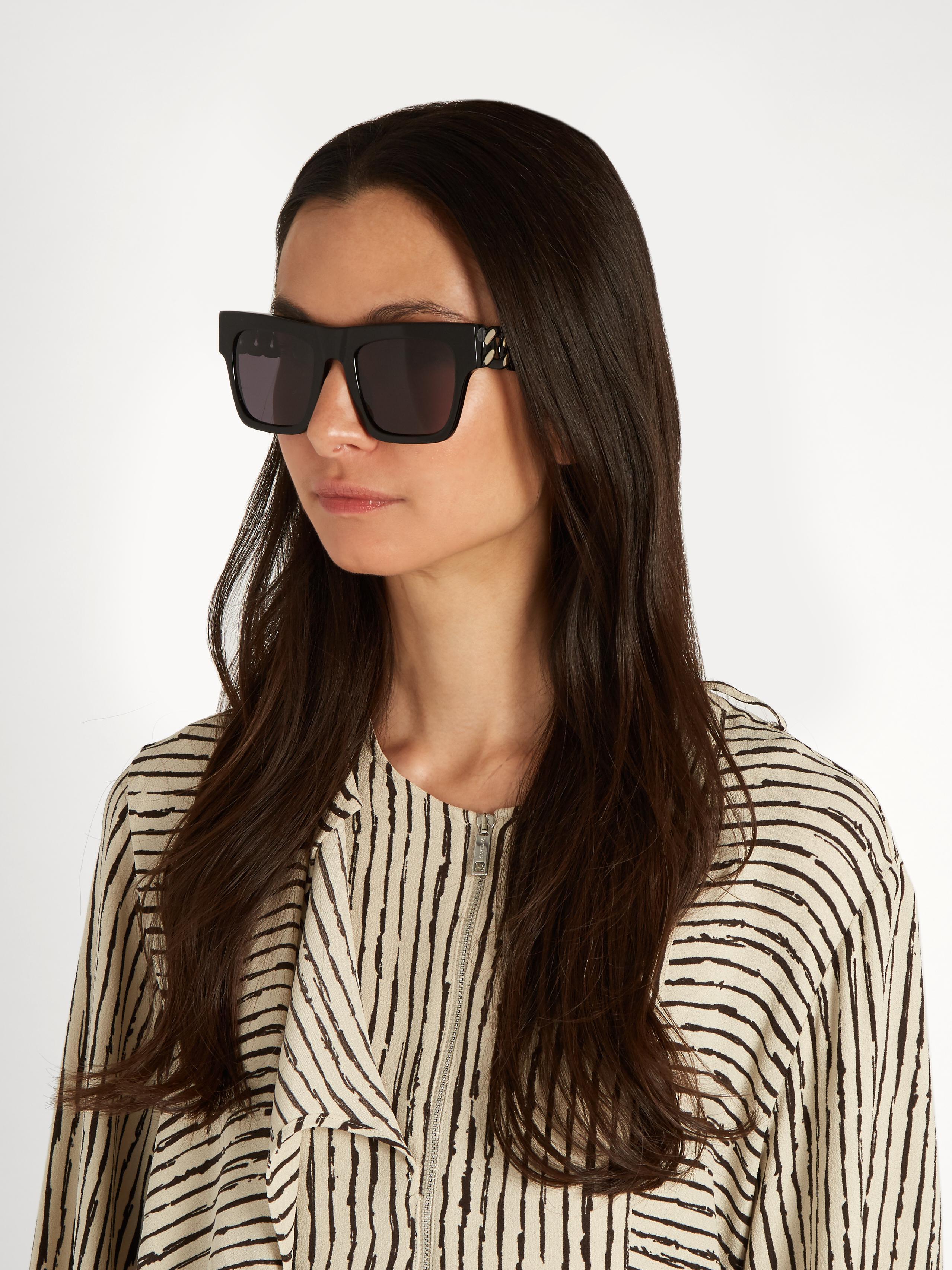 Falabella square sunglasses - Black Stella McCartney bqmnfhs0D