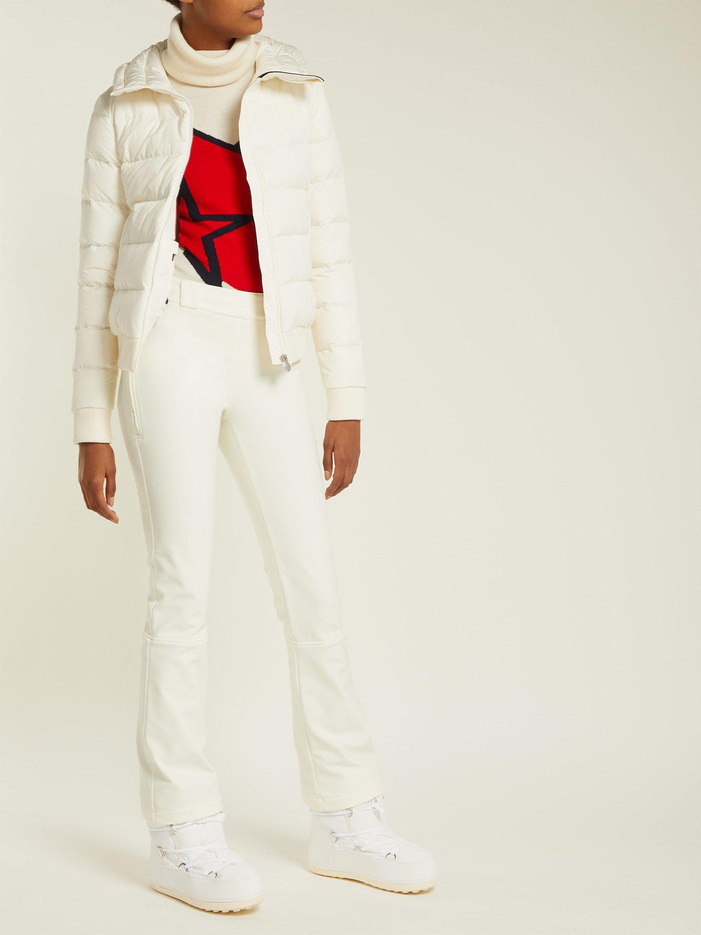 3acb4e2668b0 Lyst - Perfect Moment Ancelle Ski Trousers in White