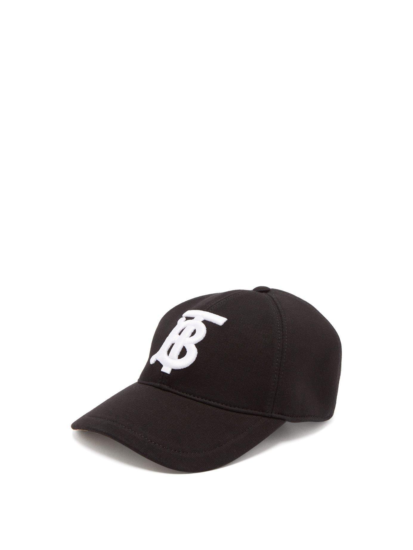 Lyst - Burberry Monogram Motif Baseball Cap in Black - Save 27% 9dc5a29d137