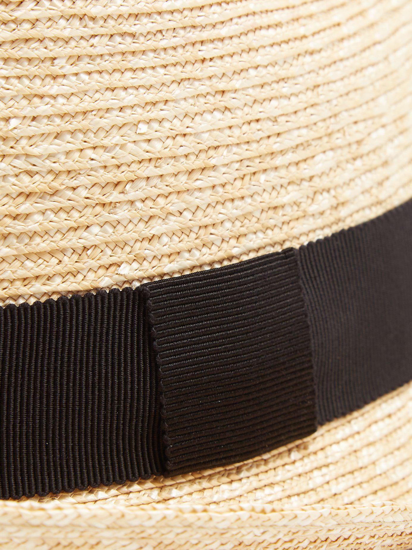 1e56f5a5815 Prada - Brown Straw Hat for Men - Lyst. View fullscreen
