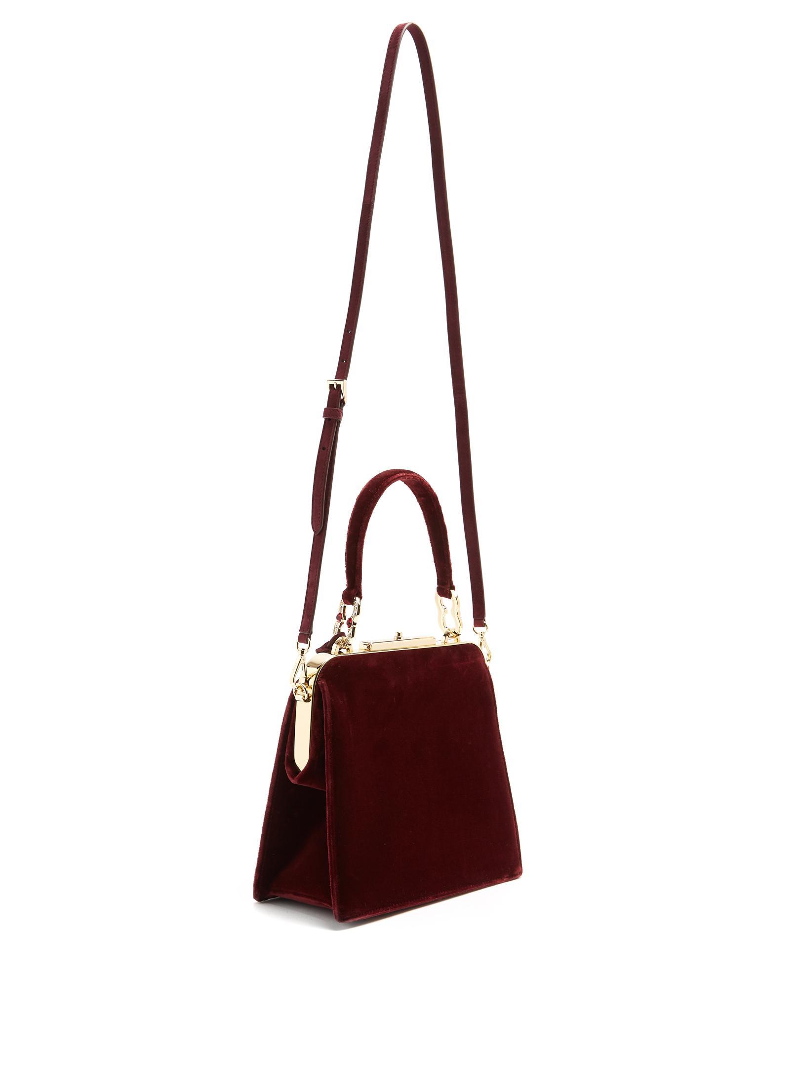 Lyst - Prada Frame Velvet Bag 15f07f10e3d22