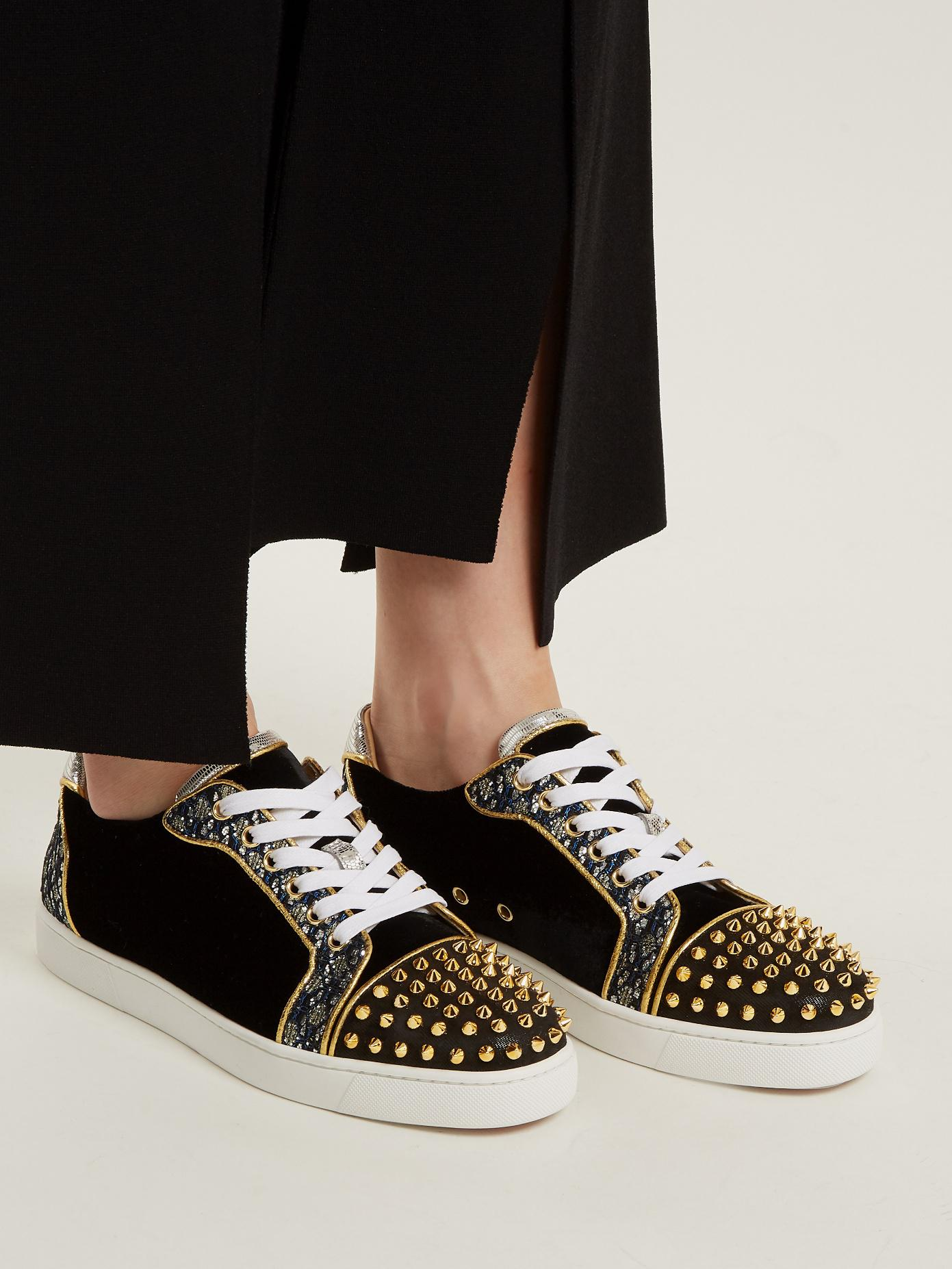 4e418773eb75 Gallery. Previously sold at  MATCHESFASHION.COM · Women s Christian  Louboutin Spike
