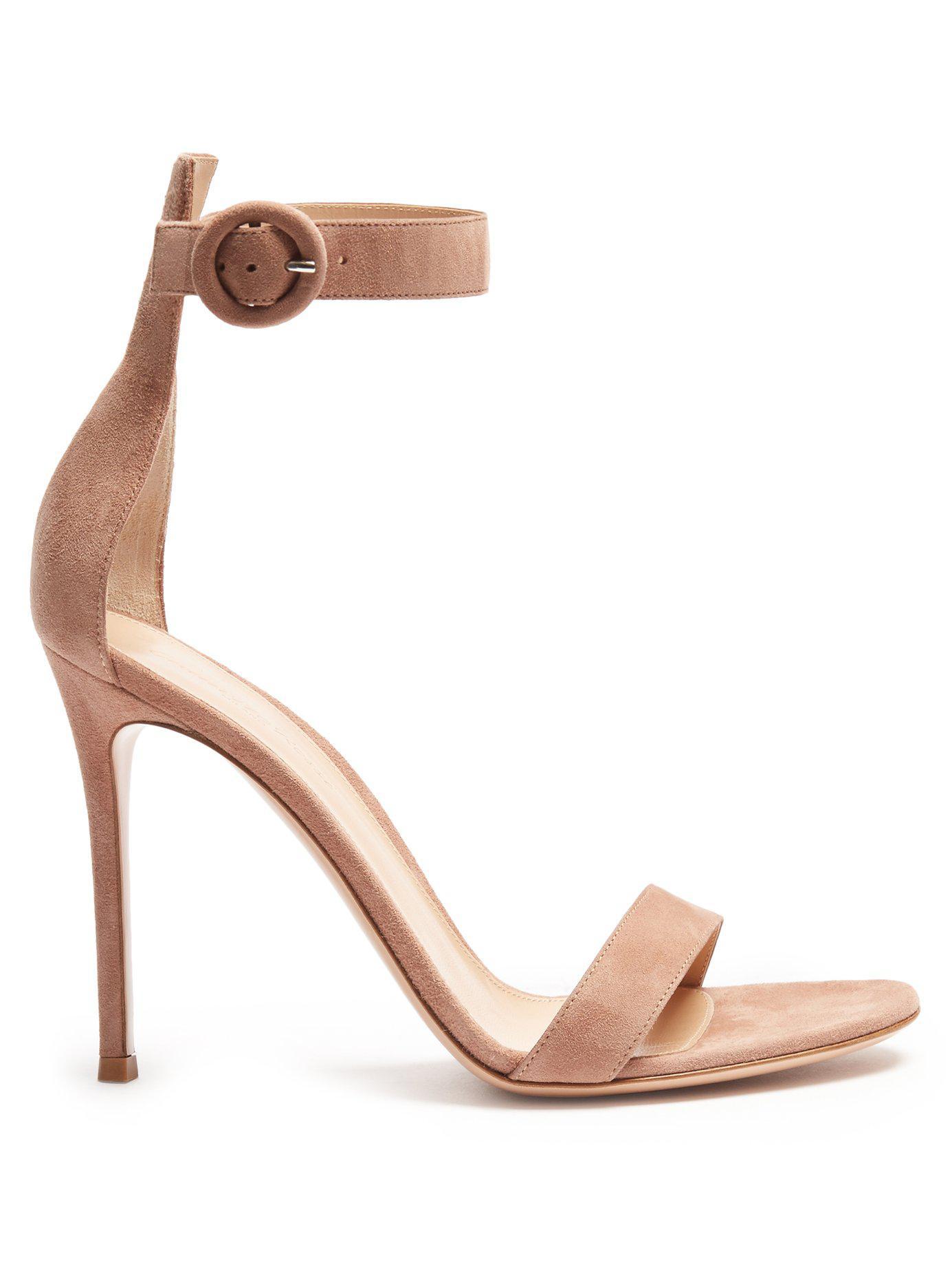 c83c04cb319 Gianvito Rossi. Women s Portofino 100 Suede Sandals