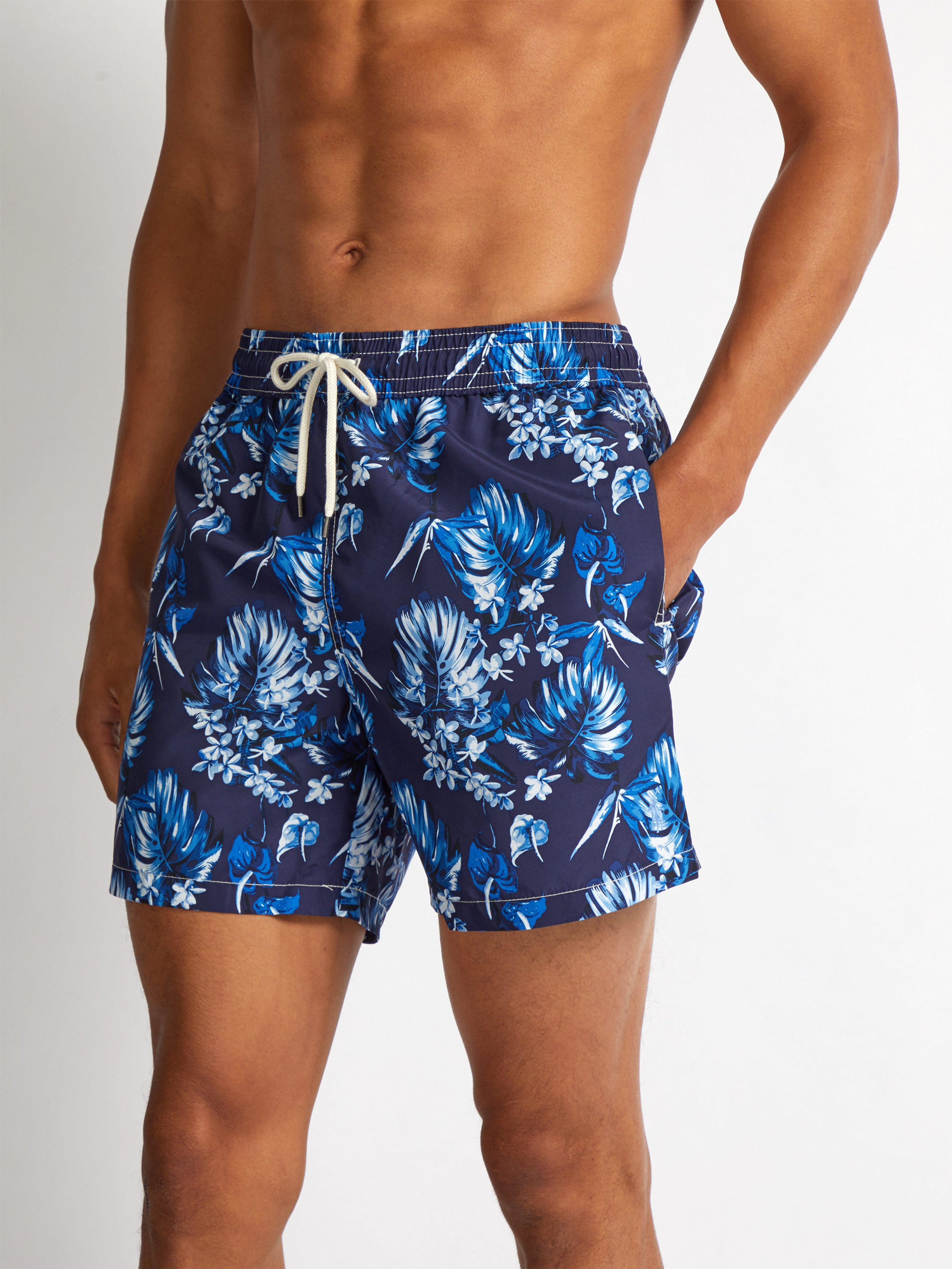 Polo Ralph Lauren - Blue Short de bain à imprimé floral for Men - Lyst.  Afficher en plein écran b72719de2d1