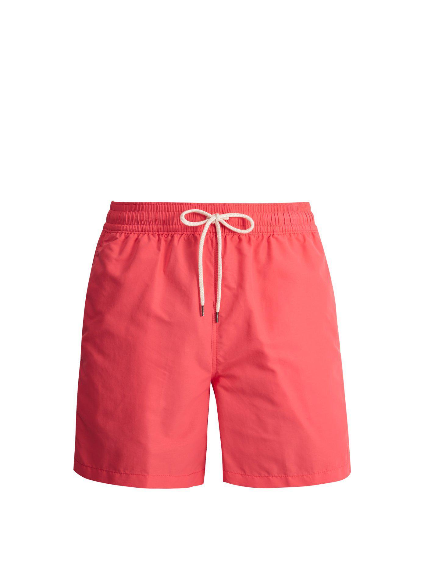 Lyst - Short de bain à logo brodé Polo Ralph Lauren pour homme en ... e86d206881d