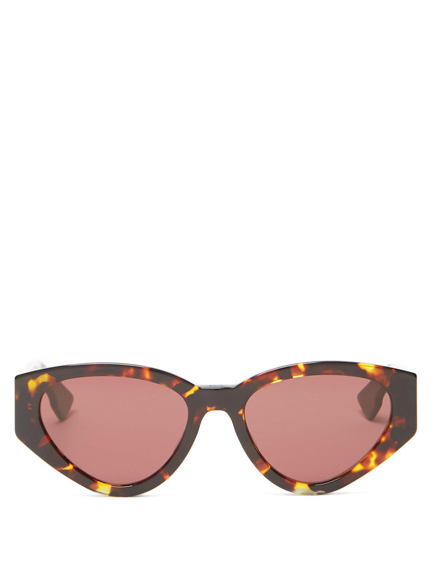 f928943eb6 Dior. Women s Diorspirit2 Cat Eye Acetate Sunglasses