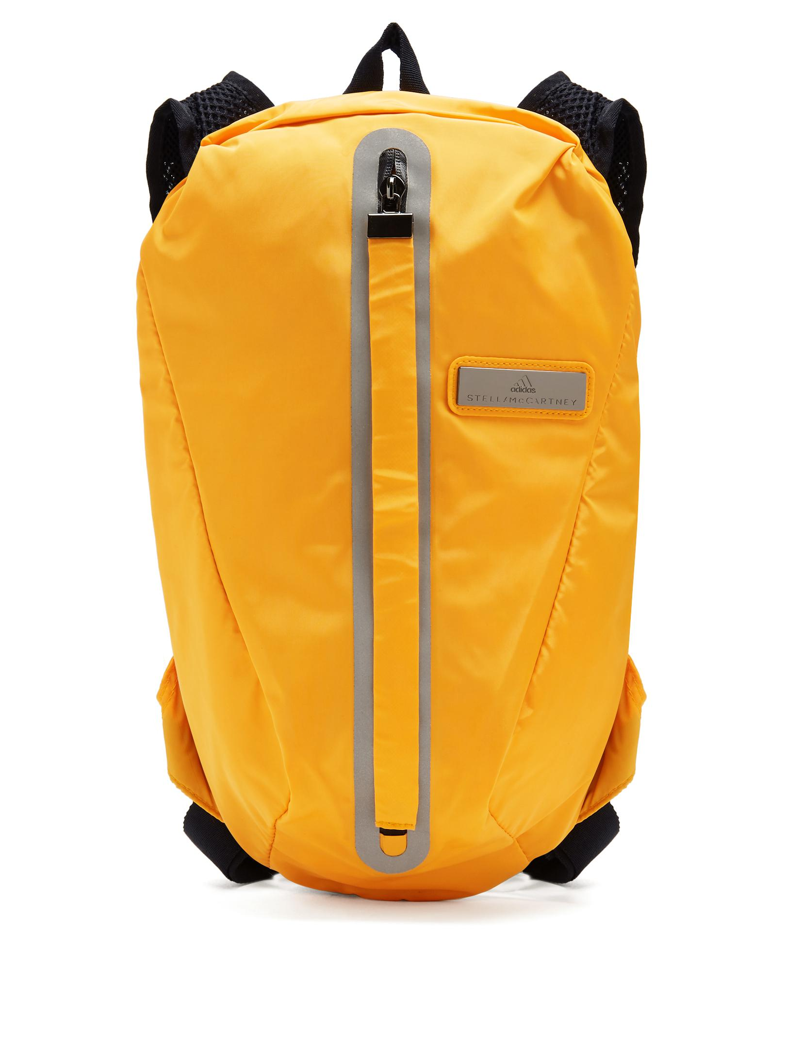 4939abdaca44 Lyst - adidas By Stella McCartney Adizero Running Backpack in Orange