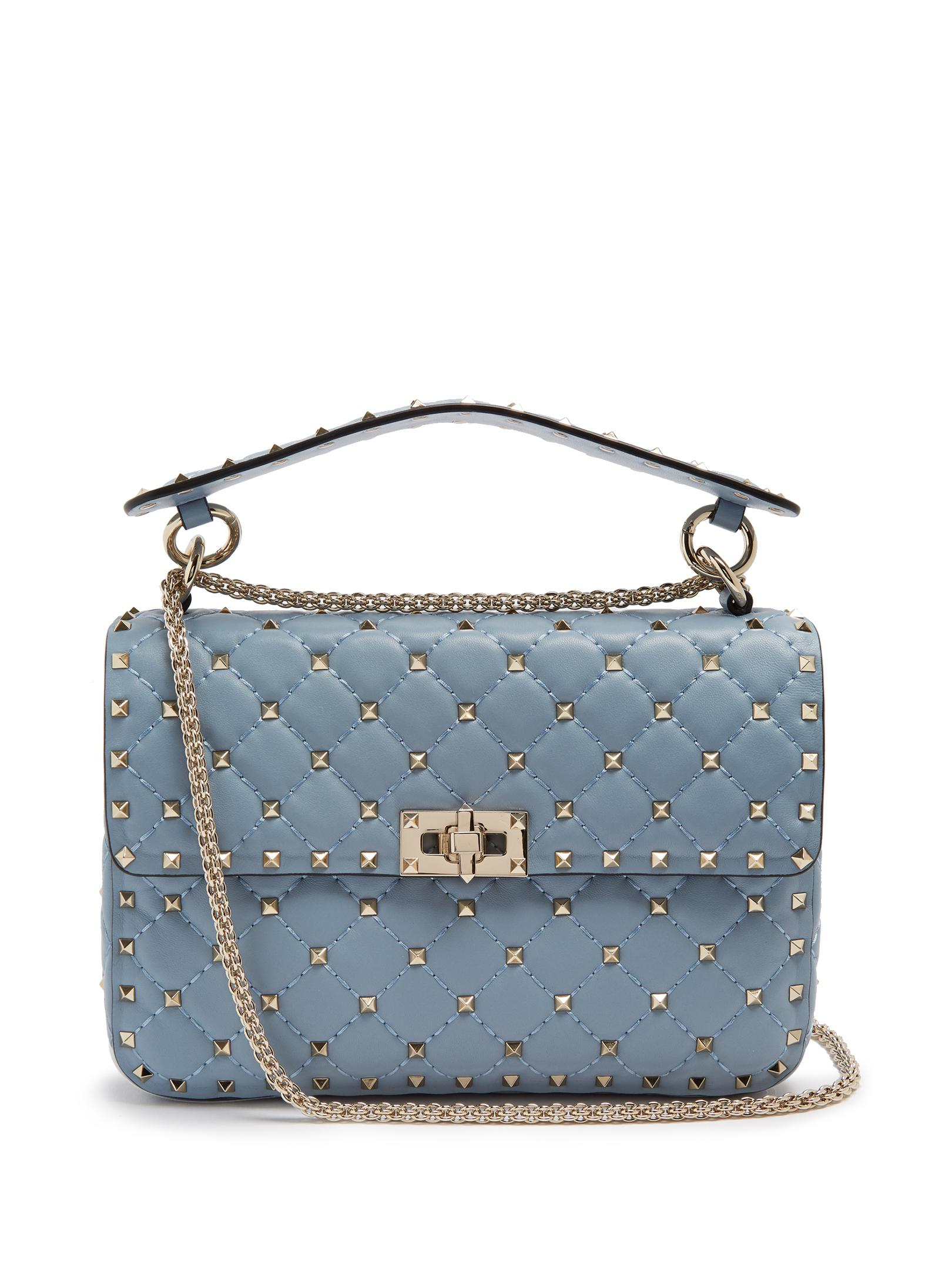 db18d6548e11 Gallery. Previously sold at  MATCHESFASHION.COM · Women s Valentino  Rockstud Bags Women s Denim Shoulder ...