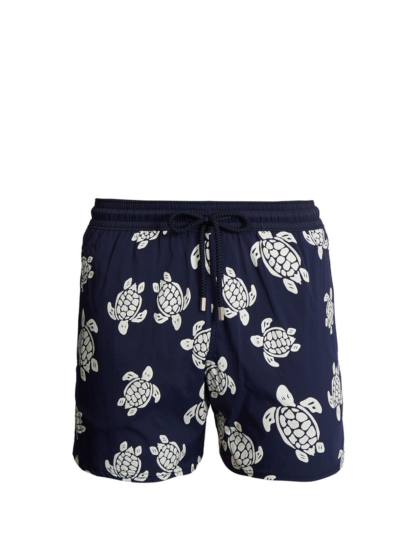 5b0541f39ecc6 Vilebrequin Moorea Glow-in-the-dark Turtles-print Swim Shorts in ...