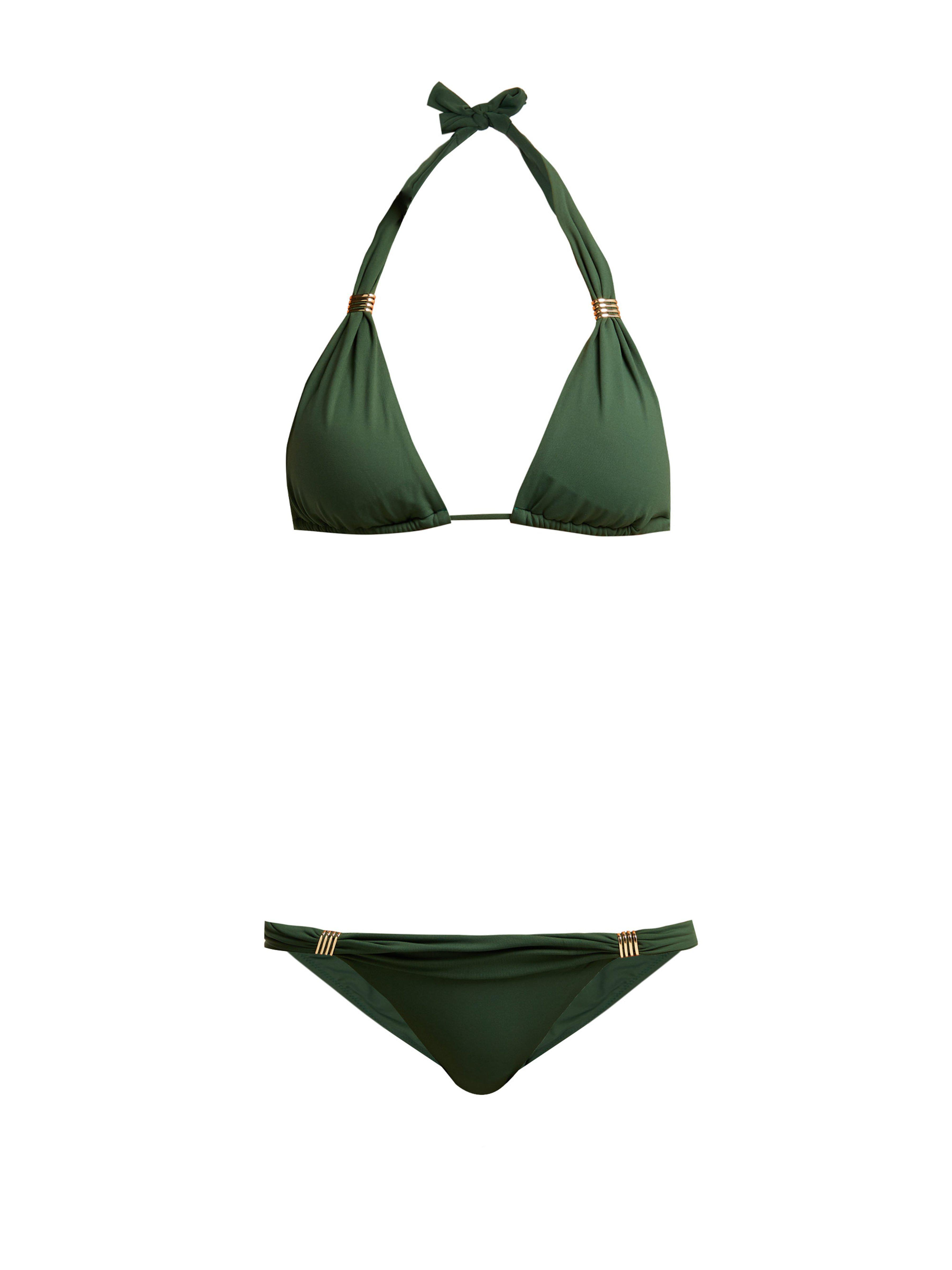 29fa936f2c Melissa Odabash Grenada Bikini in Green - Lyst