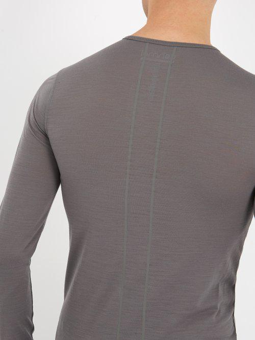 1a0654f28 Ashmei Classic Wool-blend Base-layer T-shirt in Gray for Men - Lyst
