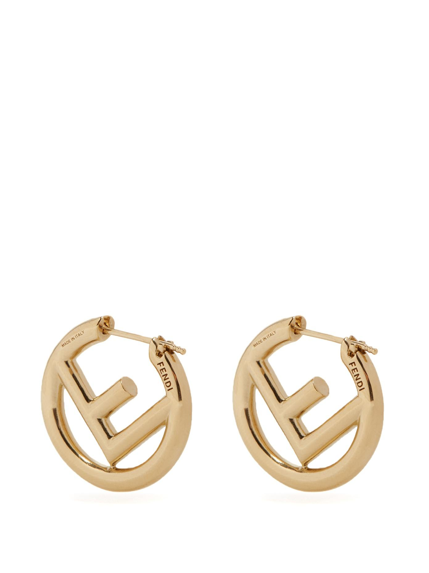 F Is Fendi earrings - Blue Fendi LJ8Q5