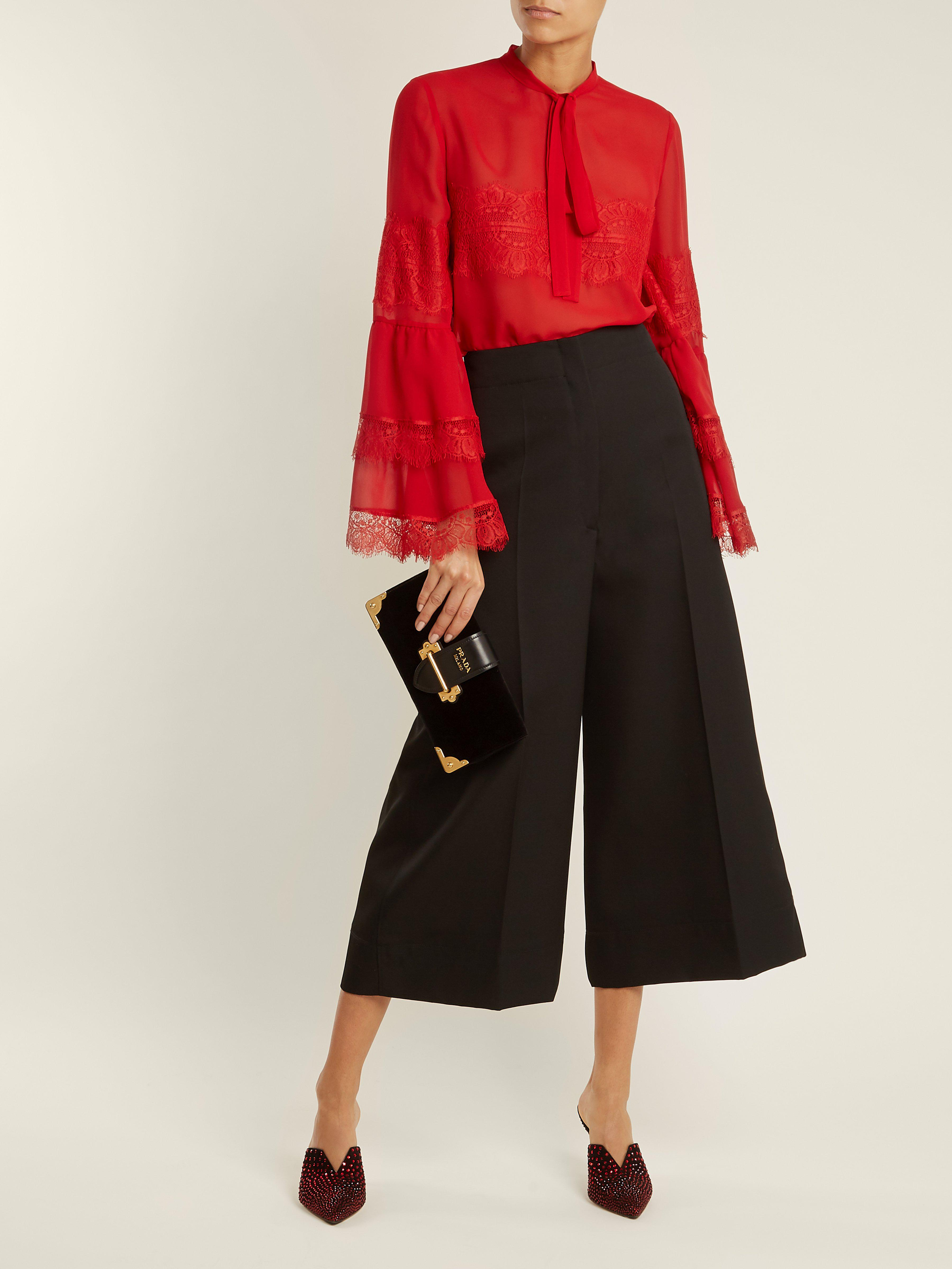 ecb5a1fefbe giambattista-valli-red-Tie-Neck-Lace-Trimmed-Silk-Georgette-Blouse.jpeg