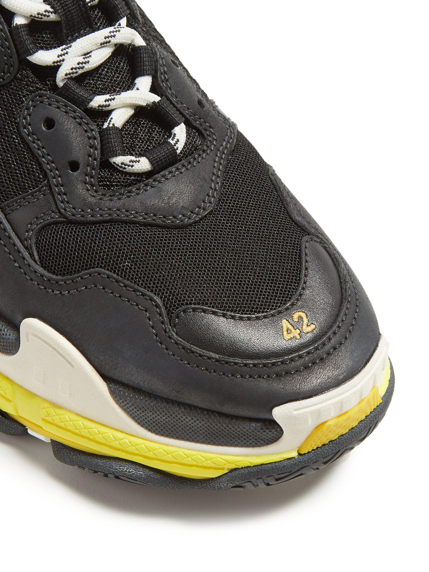 7a92530b24a9 Lyst - Balenciaga Triple S Platform Sneakers in Black for Men - Save 30%