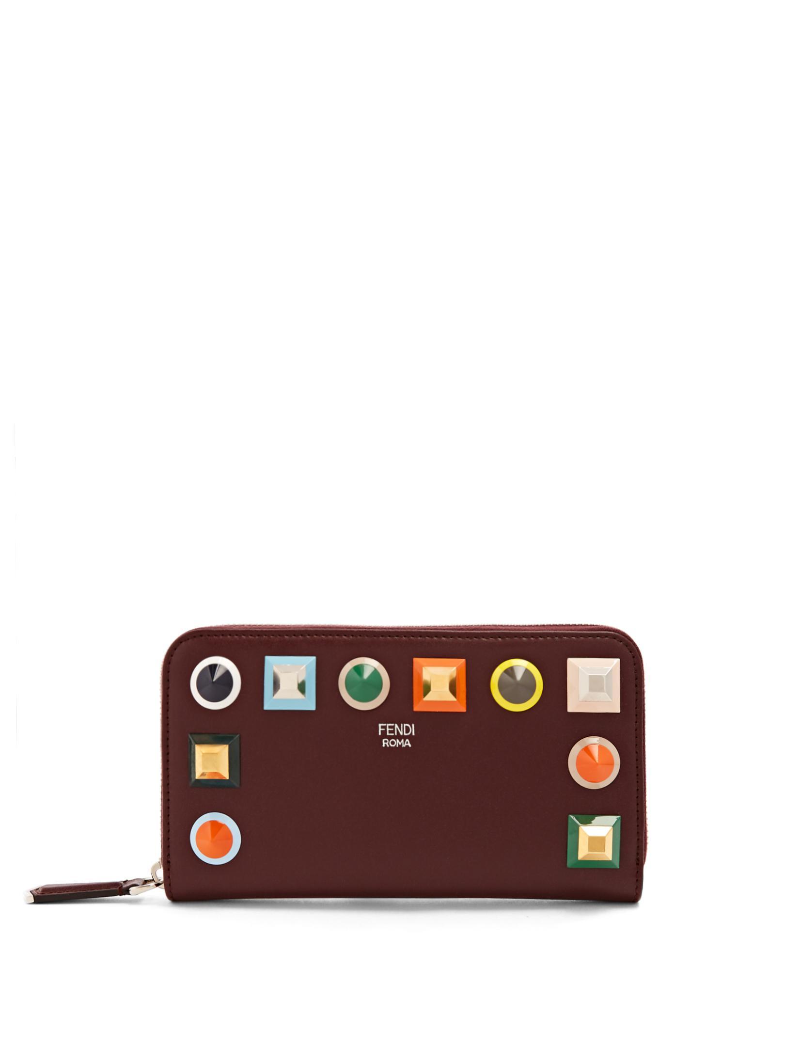Fendi Continental Rainbow wallet JlFquDCft