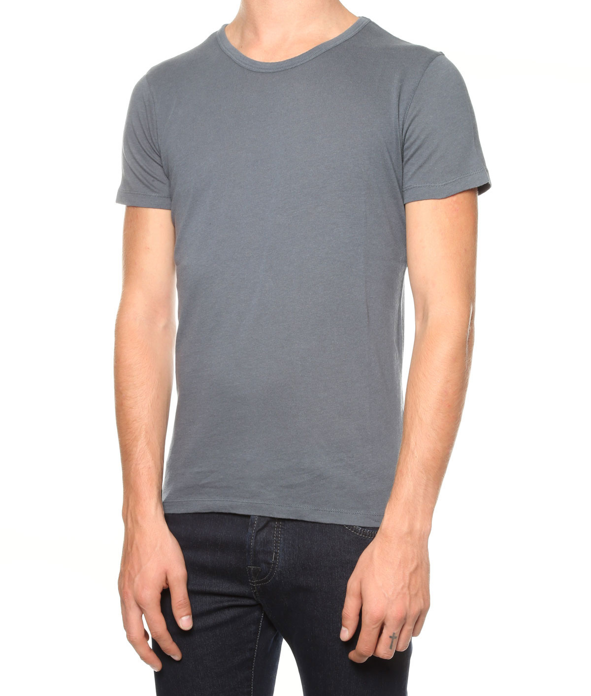 Majestic Filatures T Shirt In Gray For Men Lyst