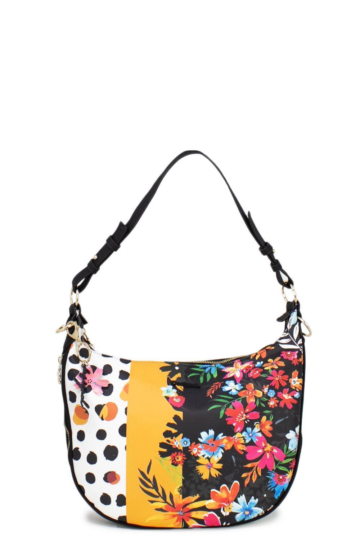 ab59167f1a08 Lyst - Desigual Multicolor Faux Leather Shoulder Bag