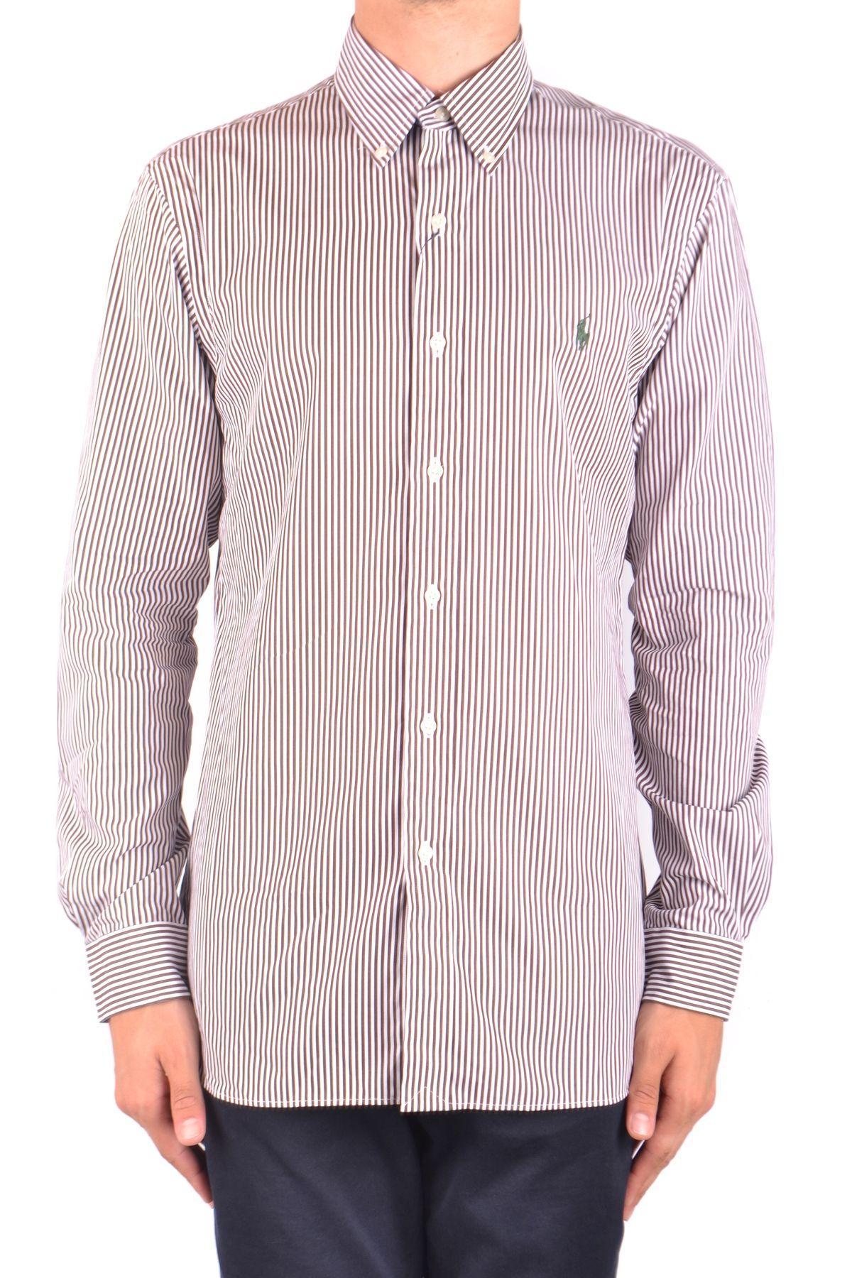 Ralph Lauren Horizontal Striped Polo Shirt in Multicolor