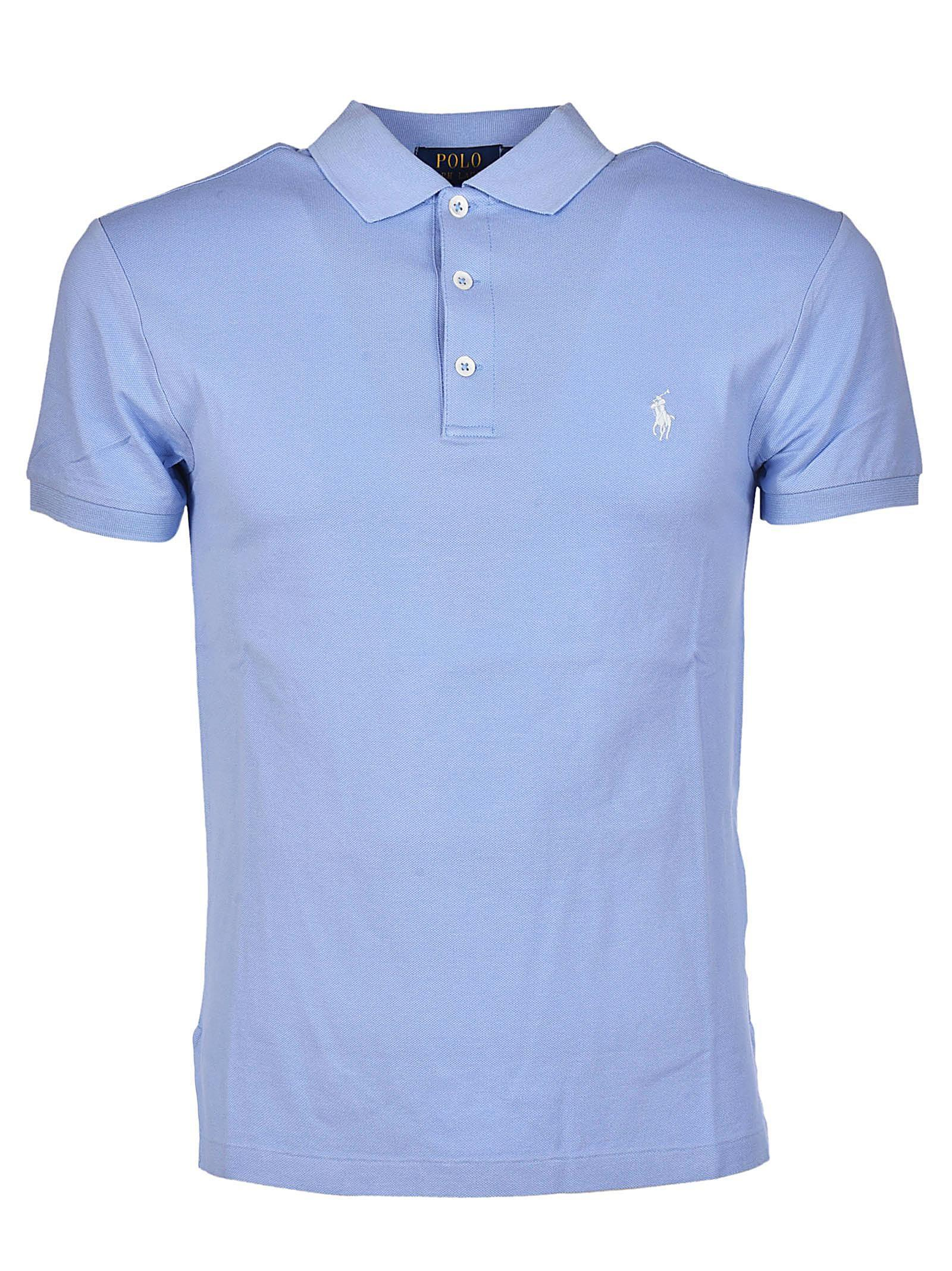 Polo ralph lauren Slim Fitted Gold Big Pony Polo Shirt in