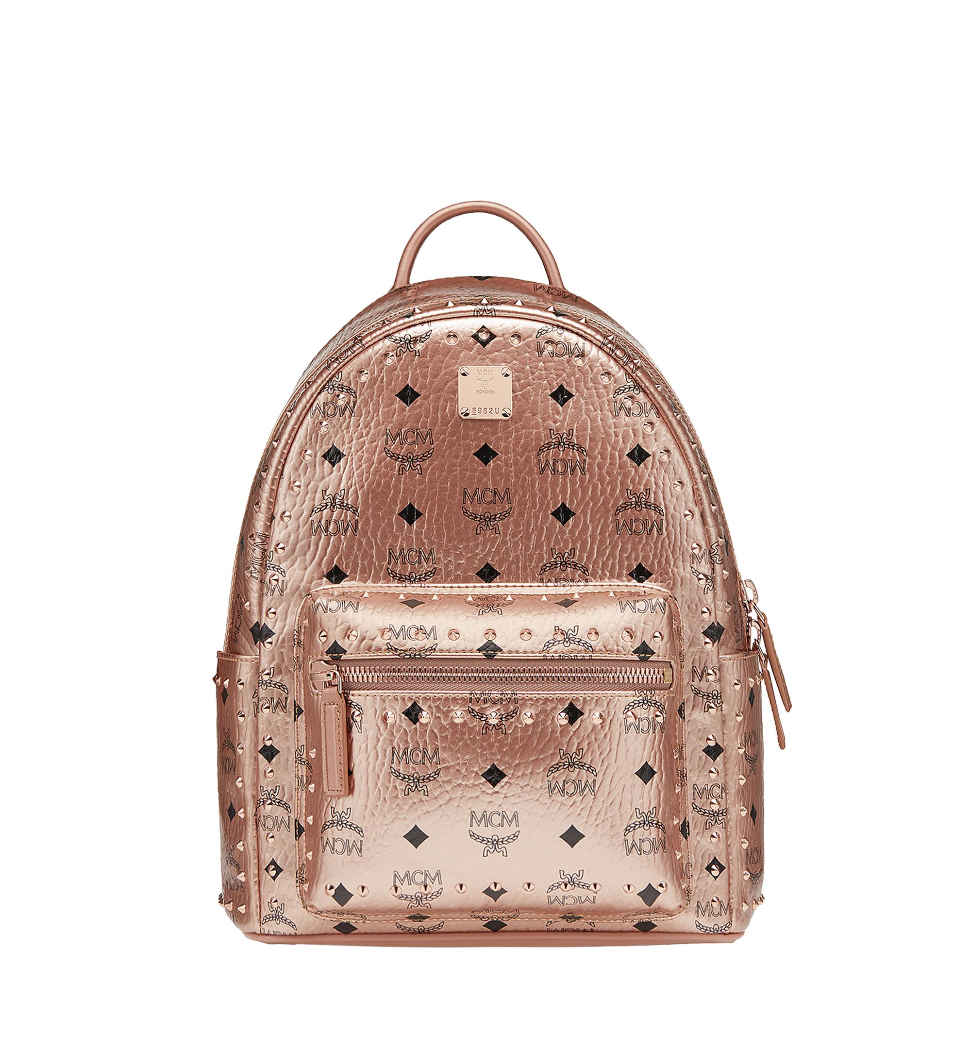 52aee2dc88ff35 MCM - Multicolor Stark Backpack In Studded Outline Visetos - Lyst. View  fullscreen