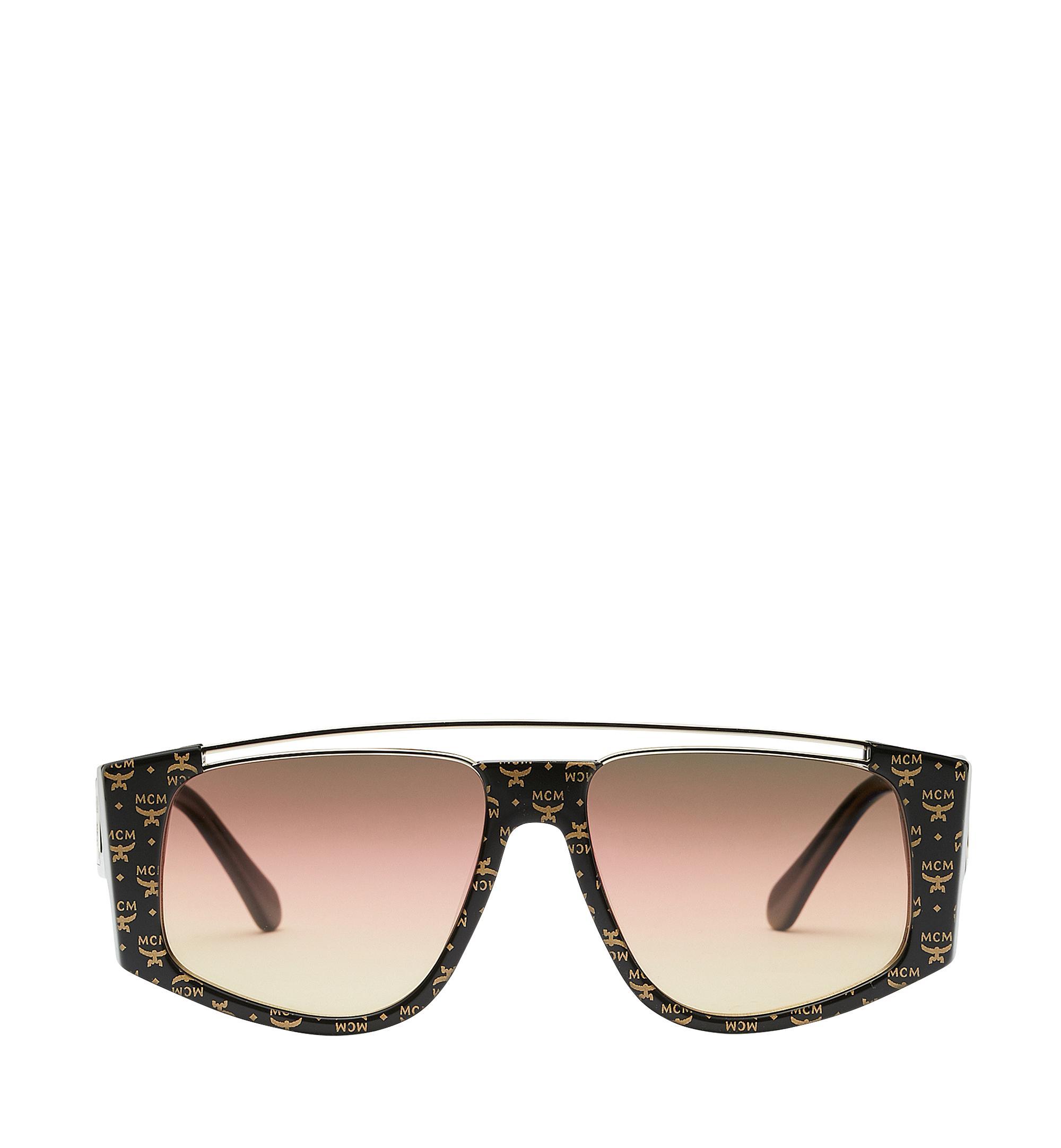 92bd3ccc0a5 MCM - Metallic Square Logo Plaque Sunglasses for Men - Lyst. View fullscreen
