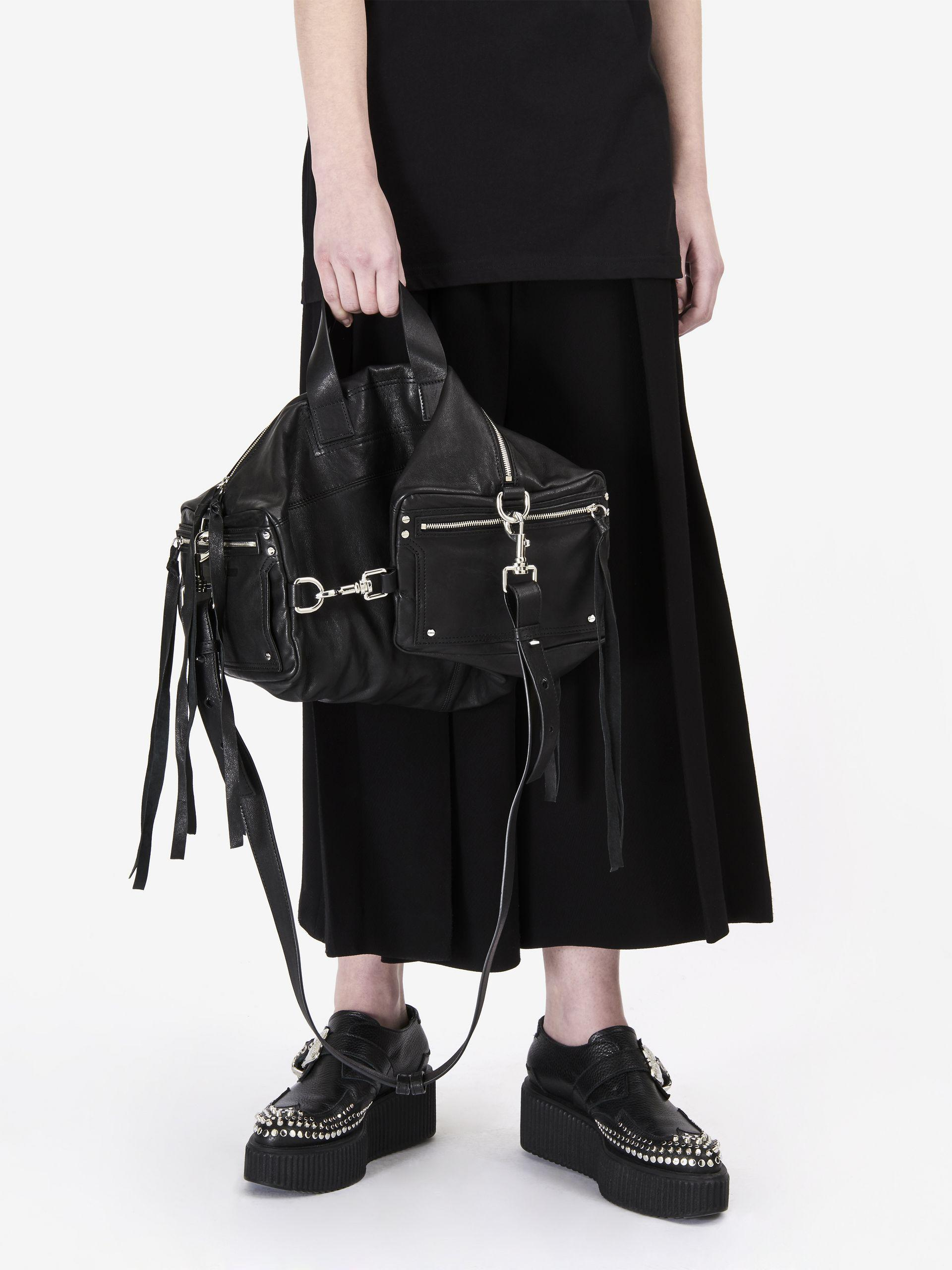 mini Box bag - Black Alexander McQueen Vdkd8Hzin