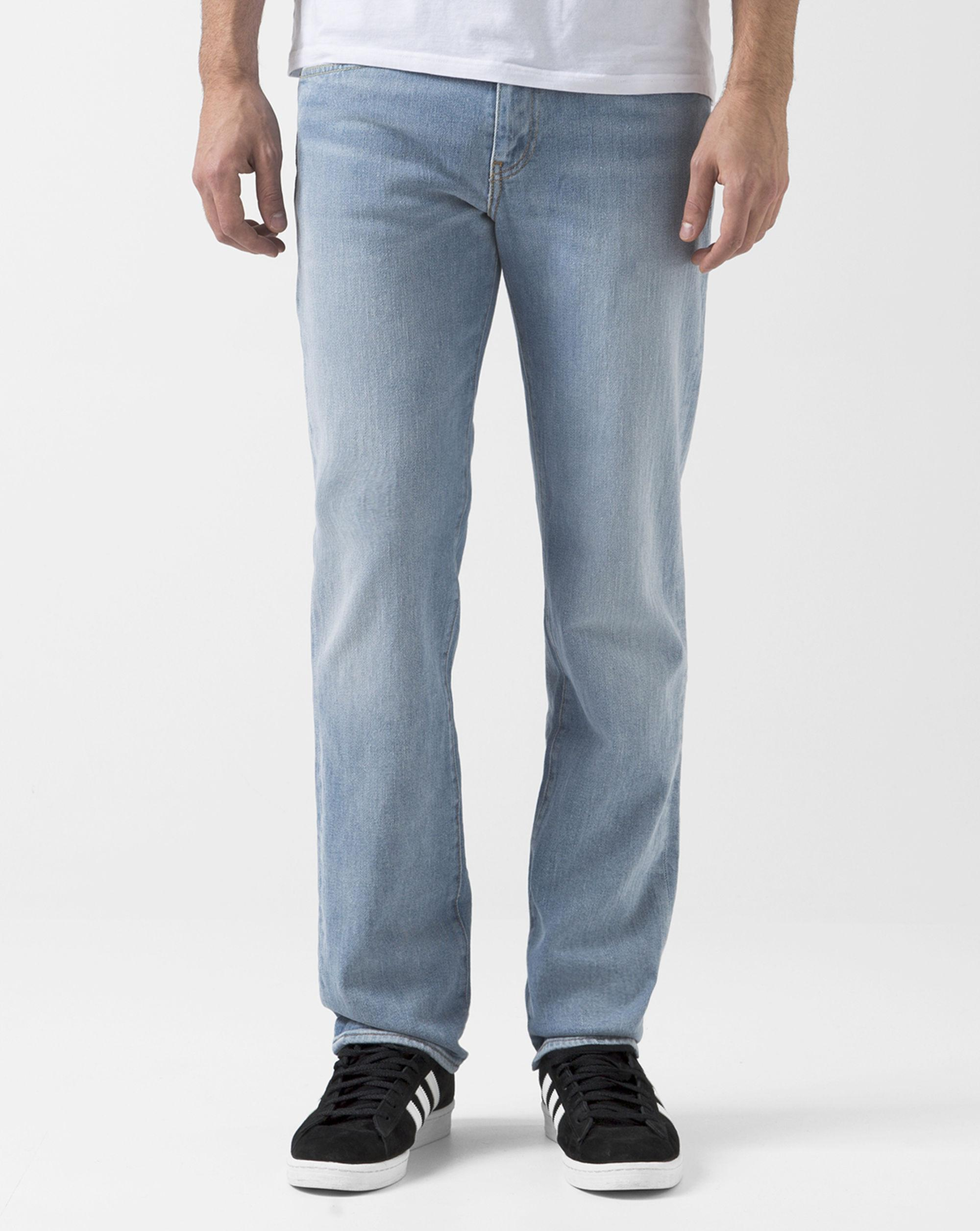 levi 39 s light washed blue slim 511 jeans in blue for men lyst. Black Bedroom Furniture Sets. Home Design Ideas