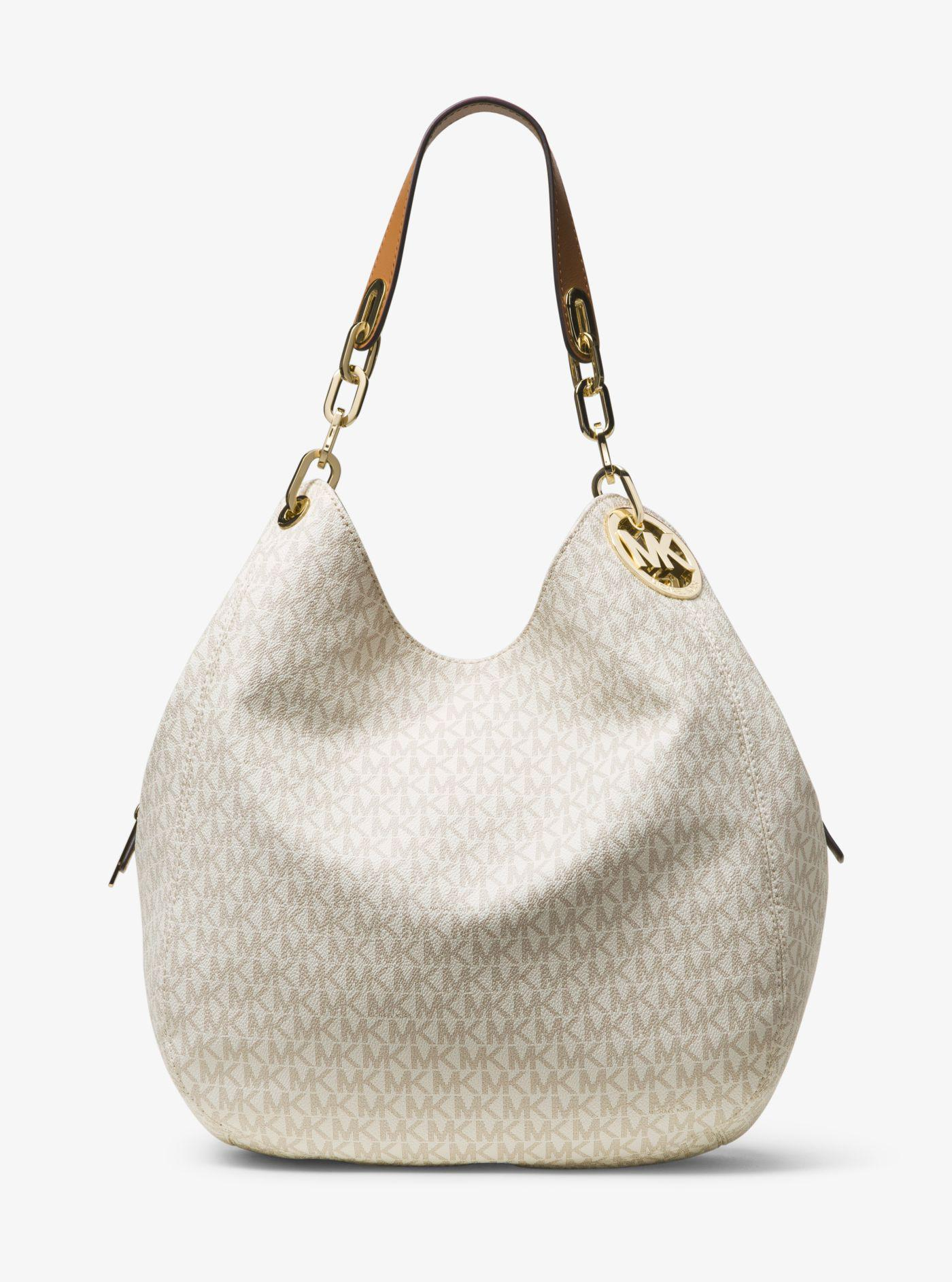 e7f822078b0dc3 Michael Kors. Women's Fulton Large Logo Shoulder Bag