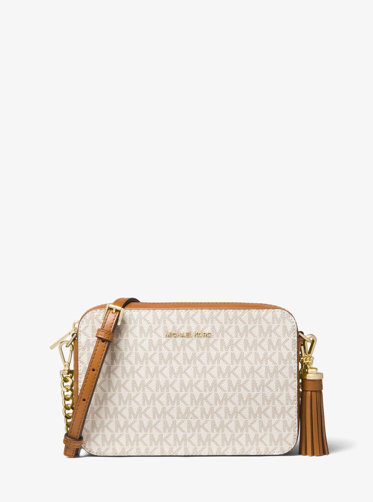 a6b66afd0a57 Michael Kors. Women's Ginny Medium Logo Crossbody Bag