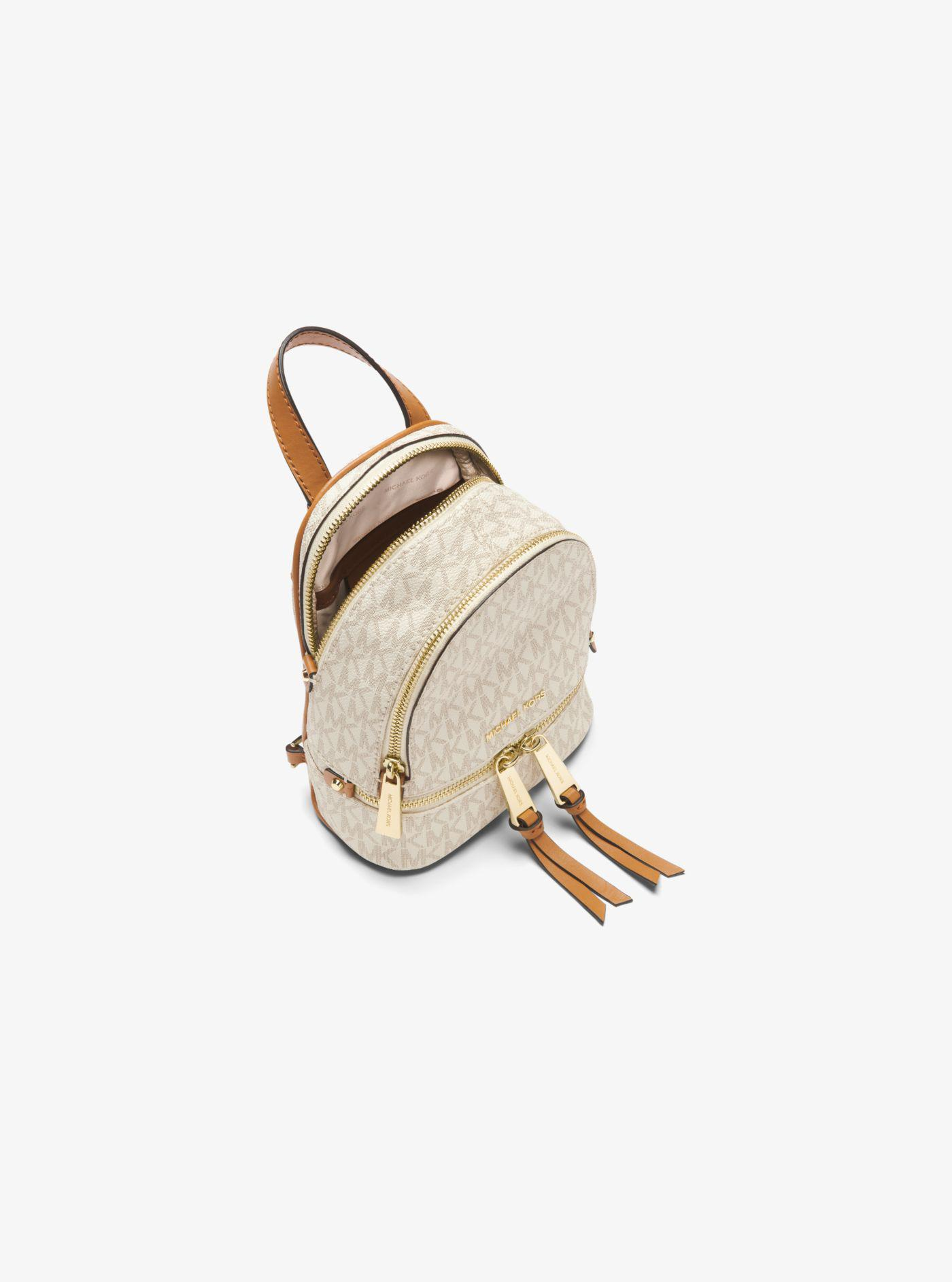 Michael Kors - Multicolor Rhea Mini Logo Backpack - Lyst. View fullscreen 523d0c9180