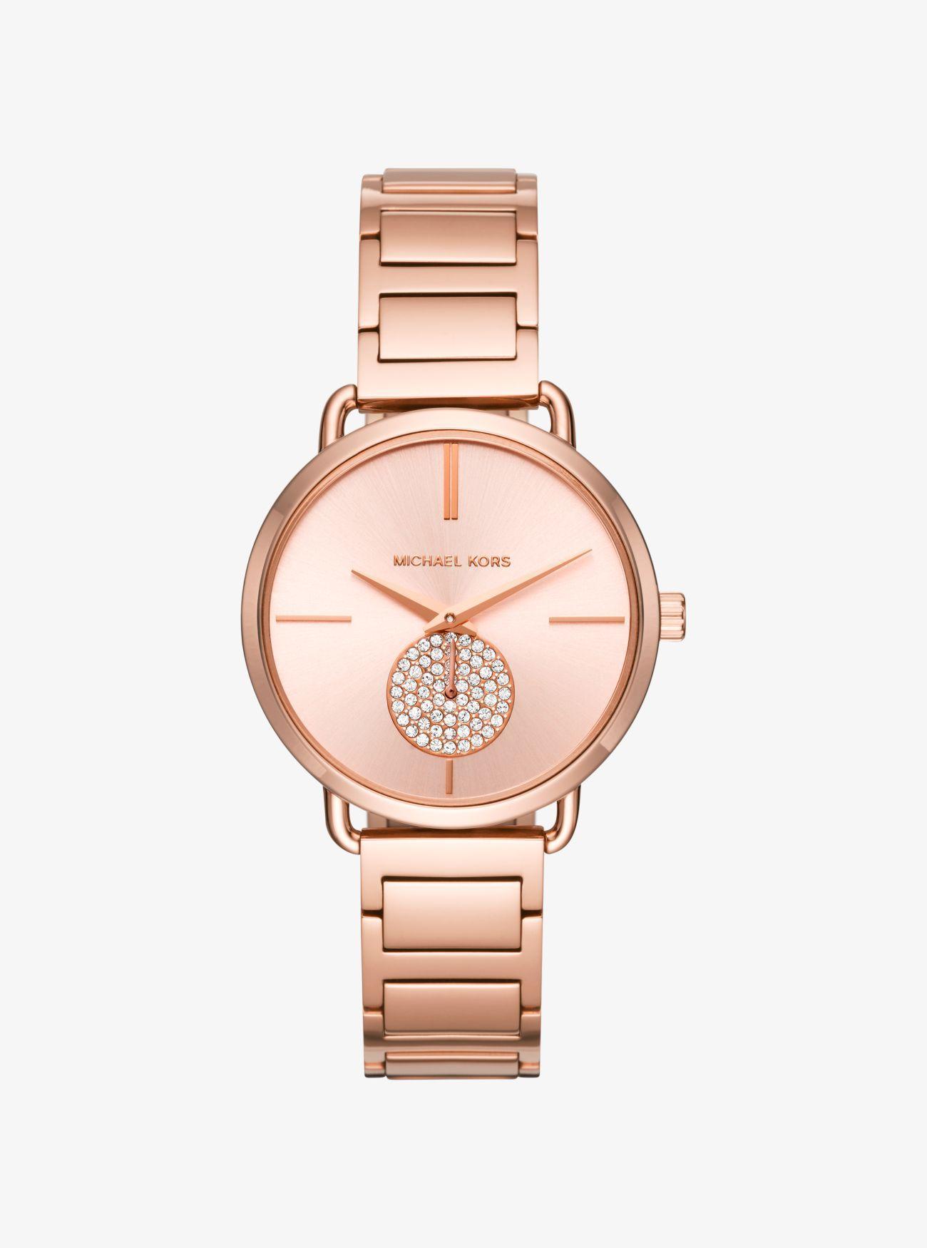 e2f3b191bac9 ... Rose Gold-tone Watch - Lyst. View fullscreen