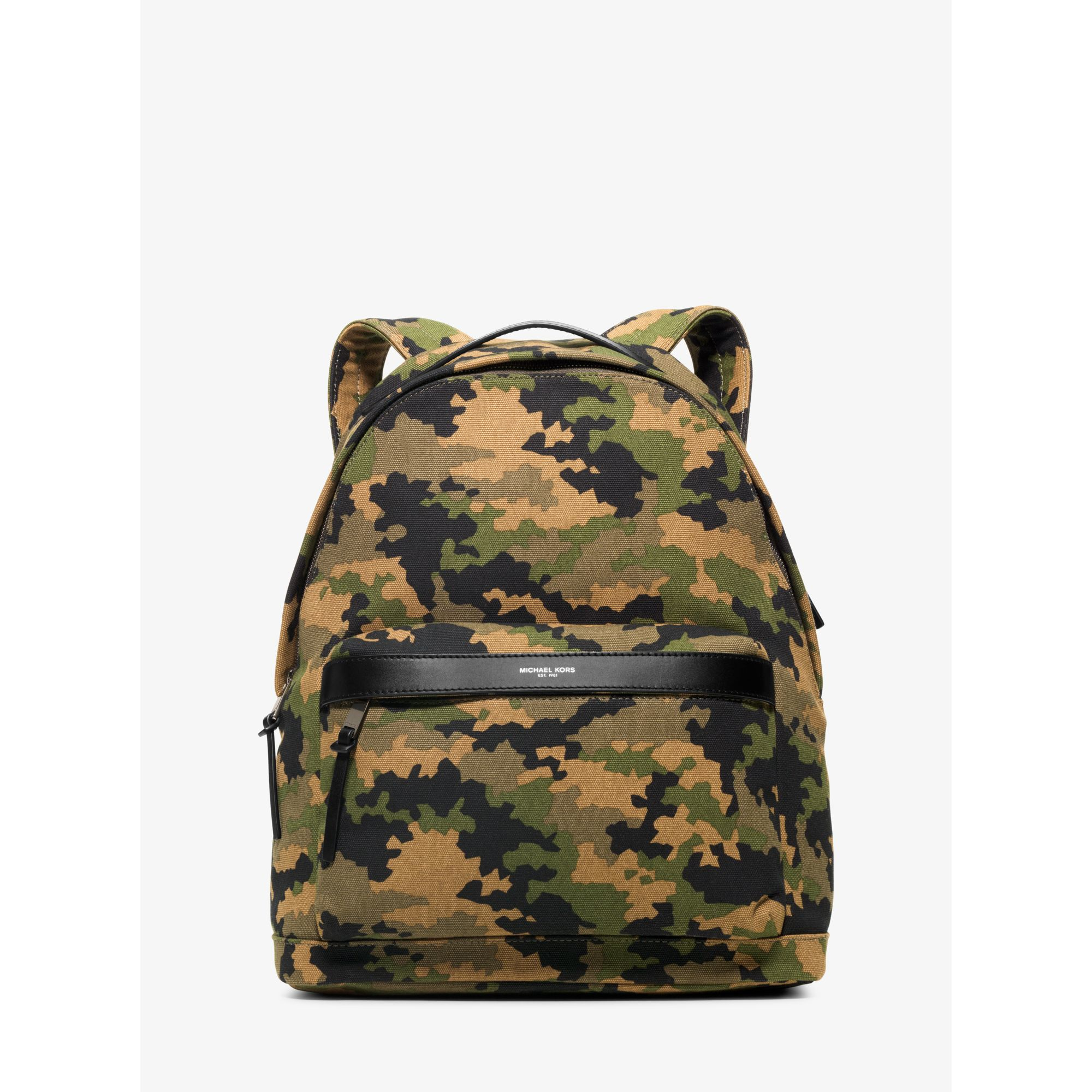 b3be08b13d53a Lyst - Michael Kors Grant Camouflage Bonded-canvas Backpack for Men