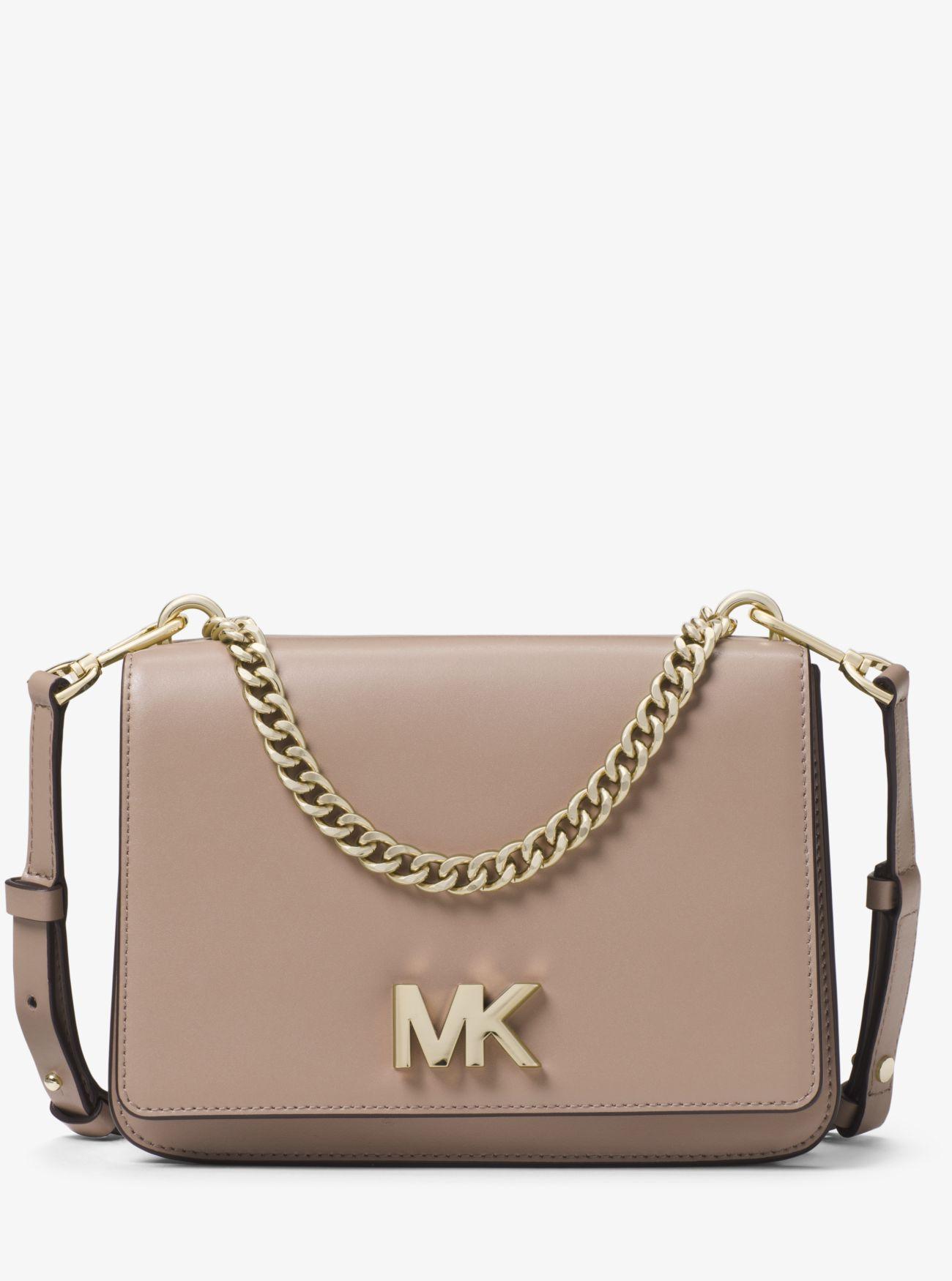 f34f8cee87b1 Michael Kors. Women s Mott Large Leather Crossbody Bag